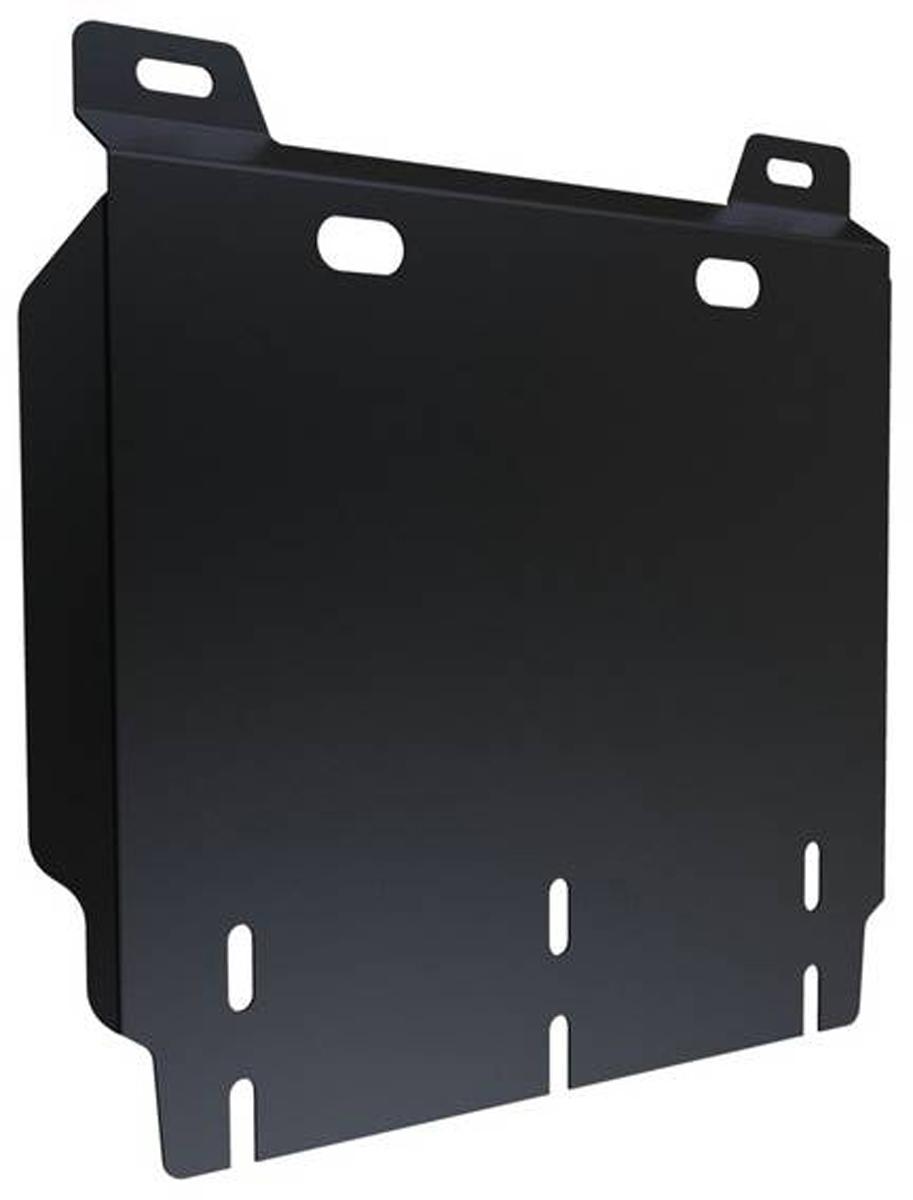 Защита КПП Автоброня Hyundai H1 2007-, сталь 2 мм111.02336.1Защита КПП Автоброня Hyundai H1 2007-, сталь 2 мм, комплект крепежа, 111.02336.1 Дополнительно можно приобрести другие защитные элементы из комплекта: защита радиатора и картера - 111.02334.1, защита КПП ч.1 - 111.02335.1Стальные защиты Автоброня надежно защищают ваш автомобиль от повреждений при наезде на бордюры, выступающие канализационные люки, кромки поврежденного асфальта или при ремонте дорог, не говоря уже о загородных дорогах. - Имеют оптимальное соотношение цена-качество. - Спроектированы с учетом особенностей автомобиля, что делает установку удобной. - Защита устанавливается в штатные места кузова автомобиля. - Является надежной защитой для важных элементов на протяжении долгих лет. - Глубокий штамп дополнительно усиливает конструкцию защиты. - Подштамповка в местах крепления защищает крепеж от срезания. - Технологические отверстия там, где они необходимы для смены масла и слива воды, оборудованные заглушками, закрепленными на защите. Толщина стали 2 мм. В комплекте крепеж и инструкция по установке.Уважаемые клиенты! Обращаем ваше внимание на тот факт, что защита имеет форму, соответствующую модели данного автомобиля. Наличие глубокого штампа и лючков для смены фильтров/масла предусмотрено не на всех защитах. Фото служит для визуального восприятия товара.