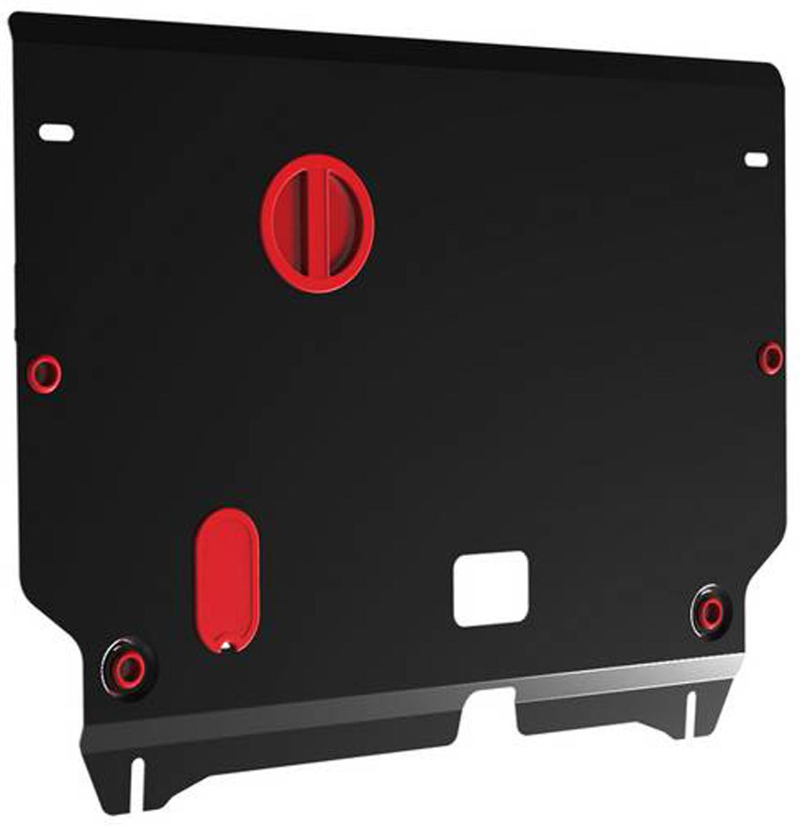 Защита картера и КПП Автоброня Kia Optima 2012-2016, сталь 2 мм111.02824.1Защита картера и КПП Автоброня Kia Optima, V - 2,4 2012-2016, сталь 2 мм, комплект крепежа, 111.02824.1Стальные защиты Автоброня надежно защищают ваш автомобиль от повреждений при наезде на бордюры, выступающие канализационные люки, кромки поврежденного асфальта или при ремонте дорог, не говоря уже о загородных дорогах.- Имеют оптимальное соотношение цена-качество.- Спроектированы с учетом особенностей автомобиля, что делает установку удобной.- Защита устанавливается в штатные места кузова автомобиля.- Является надежной защитой для важных элементов на протяжении долгих лет.- Глубокий штамп дополнительно усиливает конструкцию защиты.- Подштамповка в местах крепления защищает крепеж от срезания.- Технологические отверстия там, где они необходимы для смены масла и слива воды, оборудованные заглушками, закрепленными на защите.Толщина стали 2 мм.В комплекте крепеж и инструкция по установке.Уважаемые клиенты!Обращаем ваше внимание на тот факт, что защита имеет форму, соответствующую модели данного автомобиля. Наличие глубокого штампа и лючков для смены фильтров/масла предусмотрено не на всех защитах. Фото служит для визуального восприятия товара.