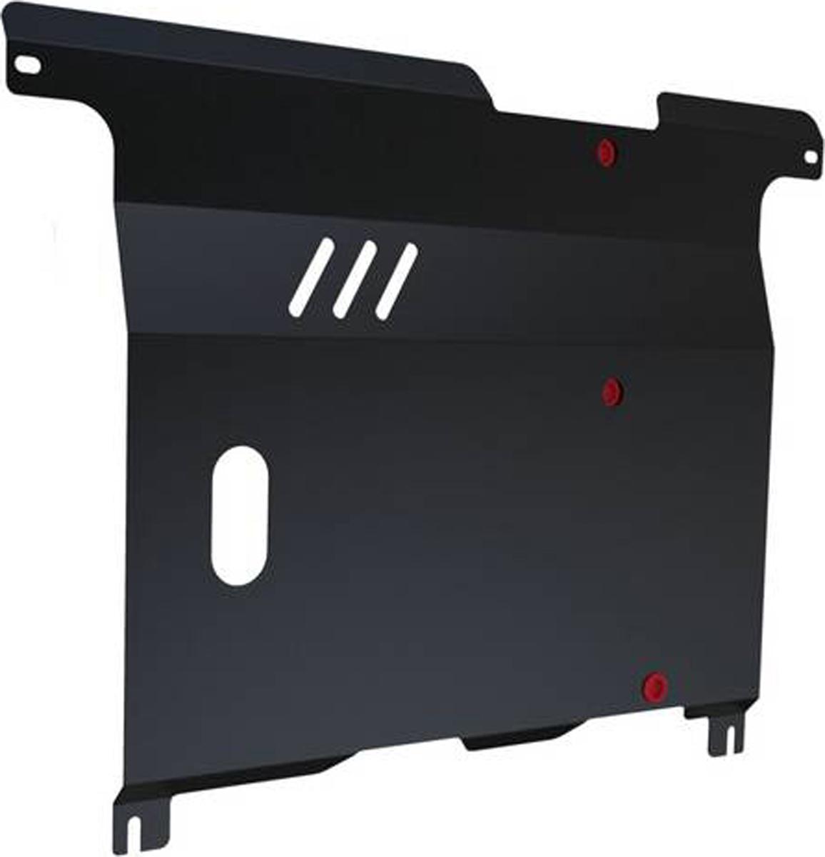 Защита картера и КПП Автоброня Mazda 121 1996-2000/Mazda Demio 1997-2003, сталь 2 мм111.03808.1Защита картера и КПП Автоброня для Mazda 121, V - 1,3; 1,8D 1996-2000/Mazda Demio, V - 1,3 1997-2003, сталь 2 мм, комплект крепежа, 111.03808.1Стальные защиты Автоброня надежно защищают ваш автомобиль от повреждений при наезде на бордюры, выступающие канализационные люки, кромки поврежденного асфальта или при ремонте дорог, не говоря уже о загородных дорогах. - Имеют оптимальное соотношение цена-качество. - Спроектированы с учетом особенностей автомобиля, что делает установку удобной. - Защита устанавливается в штатные места кузова автомобиля. - Является надежной защитой для важных элементов на протяжении долгих лет. - Глубокий штамп дополнительно усиливает конструкцию защиты. - Подштамповка в местах крепления защищает крепеж от срезания. - Технологические отверстия там, где они необходимы для смены масла и слива воды, оборудованные заглушками, закрепленными на защите. Толщина стали 2 мм. В комплекте крепеж и инструкция по установке.Уважаемые клиенты! Обращаем ваше внимание на тот факт, что защита имеет форму, соответствующую модели данного автомобиля. Наличие глубокого штампа и лючков для смены фильтров/масла предусмотрено не на всех защитах. Фото служит для визуального восприятия товара.
