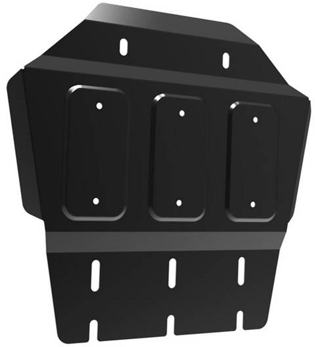 Защита РК Автоброня Mitsubishi L200 2006-2015/Mitsubishi Pajero Sport 2008-2016, сталь 2 мм111.04025.1Защита РК Автоброня для Mitsubishi L200 2006-2015/Mitsubishi Pajero Sport 2008-2016, сталь 2 мм, комплект крепежа, 111.04025.1Дополнительно можно приобрести другие защитные элементы из комплекта: защита радиатора - 111.04005.1, защита картера - 111.04006.1, защита КПП - 111.04024.1Стальные защиты Автоброня надежно защищают ваш автомобиль от повреждений при наезде на бордюры, выступающие канализационные люки, кромки поврежденного асфальта или при ремонте дорог, не говоря уже о загородных дорогах.- Имеют оптимальное соотношение цена-качество.- Спроектированы с учетом особенностей автомобиля, что делает установку удобной.- Защита устанавливается в штатные места кузова автомобиля.- Является надежной защитой для важных элементов на протяжении долгих лет.- Глубокий штамп дополнительно усиливает конструкцию защиты.- Подштамповка в местах крепления защищает крепеж от срезания.- Технологические отверстия там, где они необходимы для смены масла и слива воды, оборудованные заглушками, закрепленными на защите.Толщина стали 2 мм.В комплекте крепеж и инструкция по установке.Уважаемые клиенты!Обращаем ваше внимание на тот факт, что защита имеет форму, соответствующую модели данного автомобиля. Наличие глубокого штампа и лючков для смены фильтров/масла предусмотрено не на всех защитах. Фото служит для визуального восприятия товара.