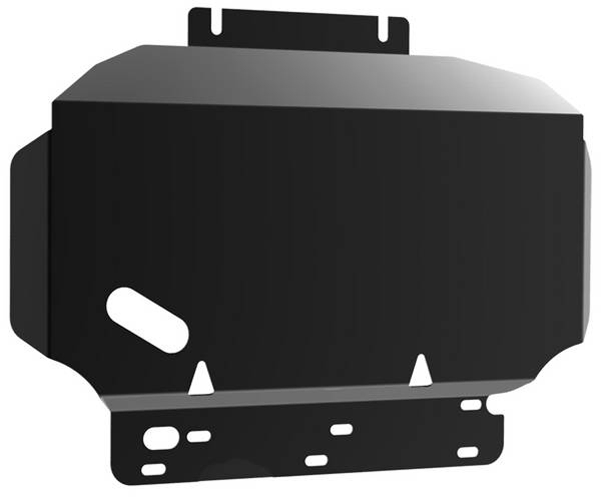 Защита картера Автоброня Nissan Navara 2005-/Nissan Pathfinder 2005-2014, сталь 2 мм111.04105.2Защита картера Автоброня для Nissan Navara, V - 2,5; 3,0; 4,0 2005-/Nissan Pathfinder, V - 2,5; 3,0; 4,0 2005-2014, сталь 2 мм, комплект крепежа, 111.04105.2Дополнительно можно приобрести другие защитные элементы из комплекта: защита КПП - 111.04106.2, защита РК - 111.04110.2Стальные защиты Автоброня надежно защищают ваш автомобиль от повреждений при наезде на бордюры, выступающие канализационные люки, кромки поврежденного асфальта или при ремонте дорог, не говоря уже о загородных дорогах.- Имеют оптимальное соотношение цена-качество.- Спроектированы с учетом особенностей автомобиля, что делает установку удобной.- Защита устанавливается в штатные места кузова автомобиля.- Является надежной защитой для важных элементов на протяжении долгих лет.- Глубокий штамп дополнительно усиливает конструкцию защиты.- Подштамповка в местах крепления защищает крепеж от срезания.- Технологические отверстия там, где они необходимы для смены масла и слива воды, оборудованные заглушками, закрепленными на защите.Толщина стали 2 мм.В комплекте крепеж и инструкция по установке.Уважаемые клиенты!Обращаем ваше внимание на тот факт, что защита имеет форму, соответствующую модели данного автомобиля. Наличие глубокого штампа и лючков для смены фильтров/масла предусмотрено не на всех защитах. Фото служит для визуального восприятия товара.