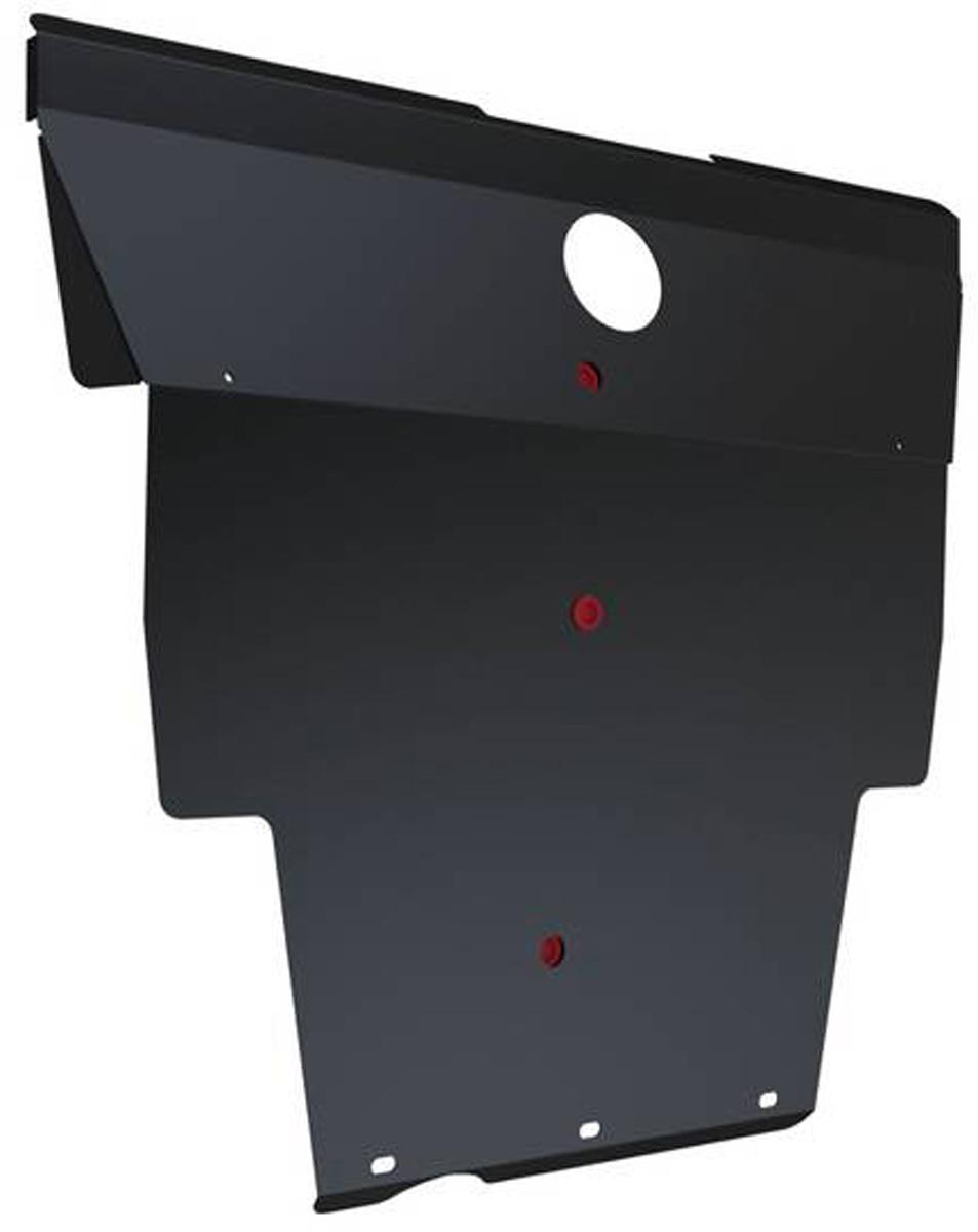 Защита картера Автоброня Nissan Bassara 1999-2003/Nissan Presage 1998-2004, сталь 2 мм111.04134.1Защита картера Автоброня для Nissan Bassara, V - 2,5TD 1999-2003/Nissan Presage, V - 2,5TD 1998-2004, сталь 2 мм, комплект крепежа, 111.04134.1Стальные защиты Автоброня надежно защищают ваш автомобиль от повреждений при наезде на бордюры, выступающие канализационные люки, кромки поврежденного асфальта или при ремонте дорог, не говоря уже о загородных дорогах.- Имеют оптимальное соотношение цена-качество.- Спроектированы с учетом особенностей автомобиля, что делает установку удобной.- Защита устанавливается в штатные места кузова автомобиля.- Является надежной защитой для важных элементов на протяжении долгих лет.- Глубокий штамп дополнительно усиливает конструкцию защиты.- Подштамповка в местах крепления защищает крепеж от срезания.- Технологические отверстия там, где они необходимы для смены масла и слива воды, оборудованные заглушками, закрепленными на защите.Толщина стали 2 мм.В комплекте крепеж и инструкция по установке.Уважаемые клиенты!Обращаем ваше внимание на тот факт, что защита имеет форму, соответствующую модели данного автомобиля. Наличие глубокого штампа и лючков для смены фильтров/масла предусмотрено не на всех защитах. Фото служит для визуального восприятия товара.