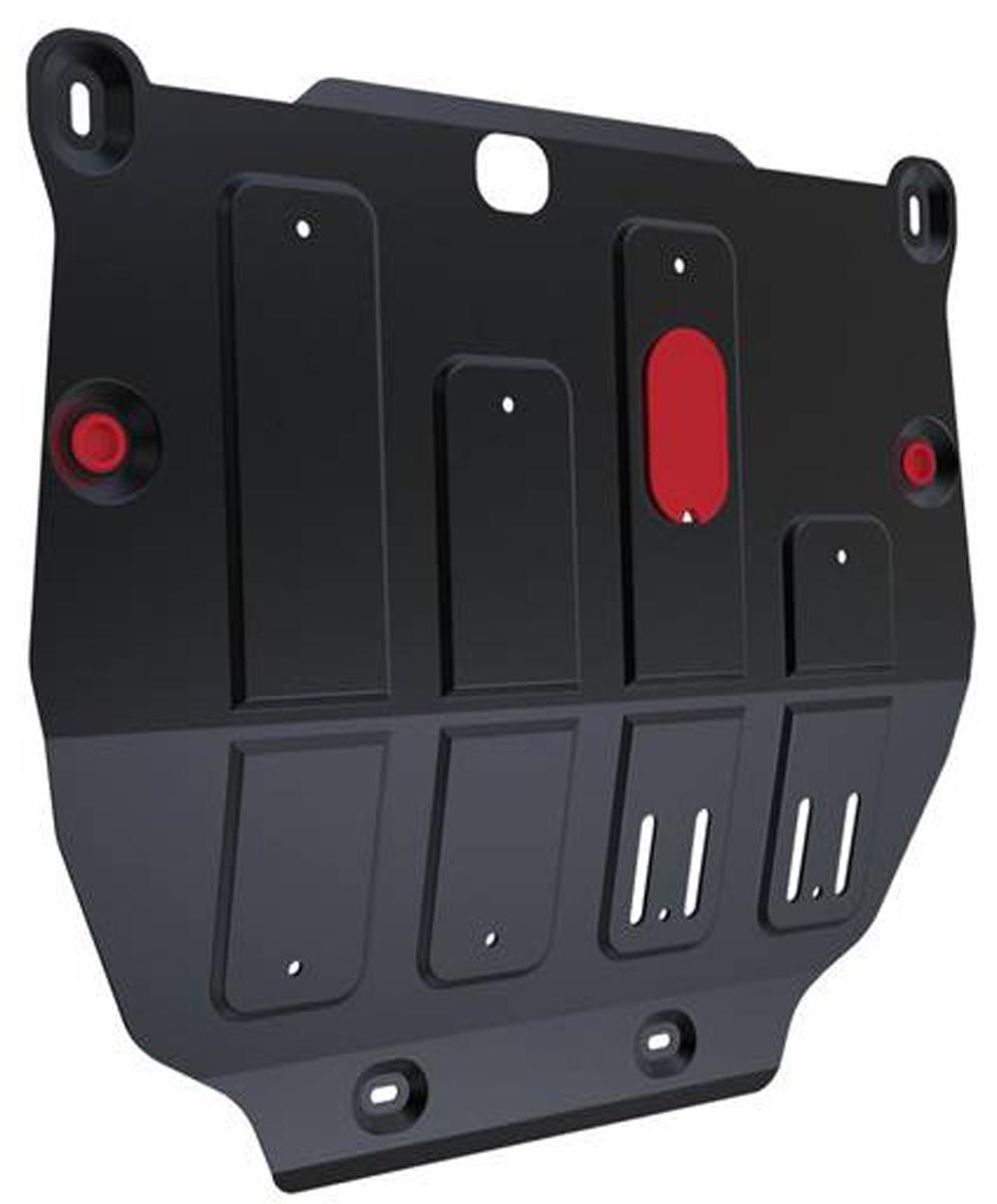 Защита картера и КПП Автоброня Opel Mokka 2012-, сталь 2 мм111.04209.1Защита картера и КПП Автоброня Opel Mokka, V -1,8 2012-, сталь 2 мм, комплект крепежа, 111.04209.1Стальные защиты Автоброня надежно защищают ваш автомобиль от повреждений при наезде на бордюры, выступающие канализационные люки, кромки поврежденного асфальта или при ремонте дорог, не говоря уже о загородных дорогах.- Имеют оптимальное соотношение цена-качество.- Спроектированы с учетом особенностей автомобиля, что делает установку удобной.- Защита устанавливается в штатные места кузова автомобиля.- Является надежной защитой для важных элементов на протяжении долгих лет.- Глубокий штамп дополнительно усиливает конструкцию защиты.- Подштамповка в местах крепления защищает крепеж от срезания.- Технологические отверстия там, где они необходимы для смены масла и слива воды, оборудованные заглушками, закрепленными на защите.Толщина стали 2 мм.В комплекте крепеж и инструкция по установке.Уважаемые клиенты!Обращаем ваше внимание на тот факт, что защита имеет форму, соответствующую модели данного автомобиля. Наличие глубокого штампа и лючков для смены фильтров/масла предусмотрено не на всех защитах. Фото служит для визуального восприятия товара.