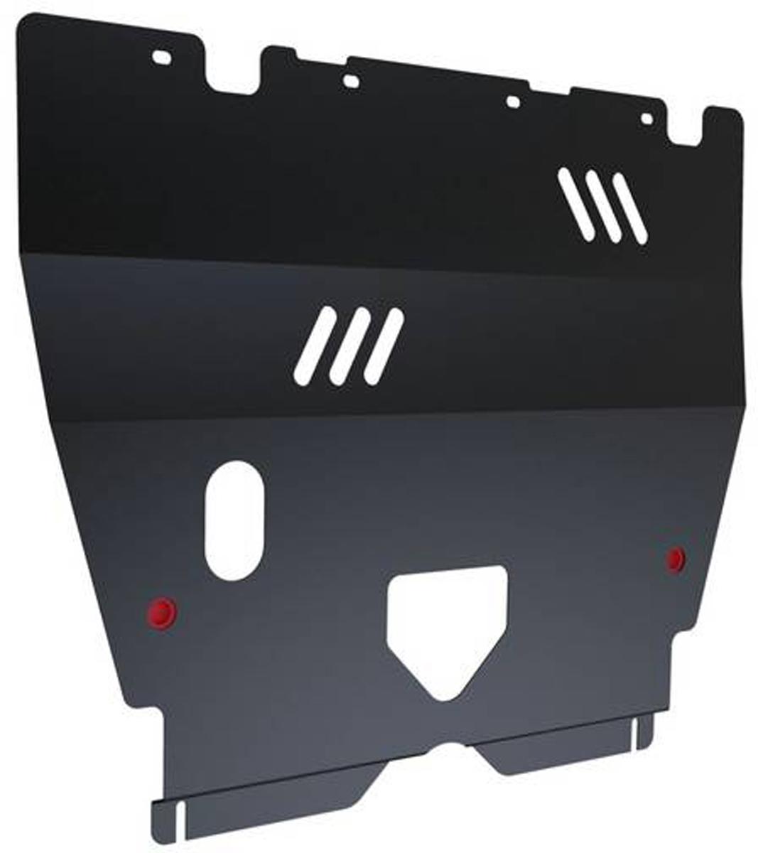 Защита картера и КПП Автоброня Peugeot 206 2006-, сталь 2 мм111.04301.1Защита картера и КПП Автоброня Peugeot 206, V - 1,4; 1,6 2006-, сталь 2 мм, комплект крепежа, 111.04301.1Стальные защиты Автоброня надежно защищают ваш автомобиль от повреждений при наезде на бордюры, выступающие канализационные люки, кромки поврежденного асфальта или при ремонте дорог, не говоря уже о загородных дорогах. - Имеют оптимальное соотношение цена-качество. - Спроектированы с учетом особенностей автомобиля, что делает установку удобной. - Защита устанавливается в штатные места кузова автомобиля. - Является надежной защитой для важных элементов на протяжении долгих лет. - Глубокий штамп дополнительно усиливает конструкцию защиты. - Подштамповка в местах крепления защищает крепеж от срезания. - Технологические отверстия там, где они необходимы для смены масла и слива воды, оборудованные заглушками, закрепленными на защите. Толщина стали 2 мм. В комплекте крепеж и инструкция по установке.Уважаемые клиенты! Обращаем ваше внимание на тот факт, что защита имеет форму, соответствующую модели данного автомобиля. Наличие глубокого штампа и лючков для смены фильтров/масла предусмотрено не на всех защитах. Фото служит для визуального восприятия товара.