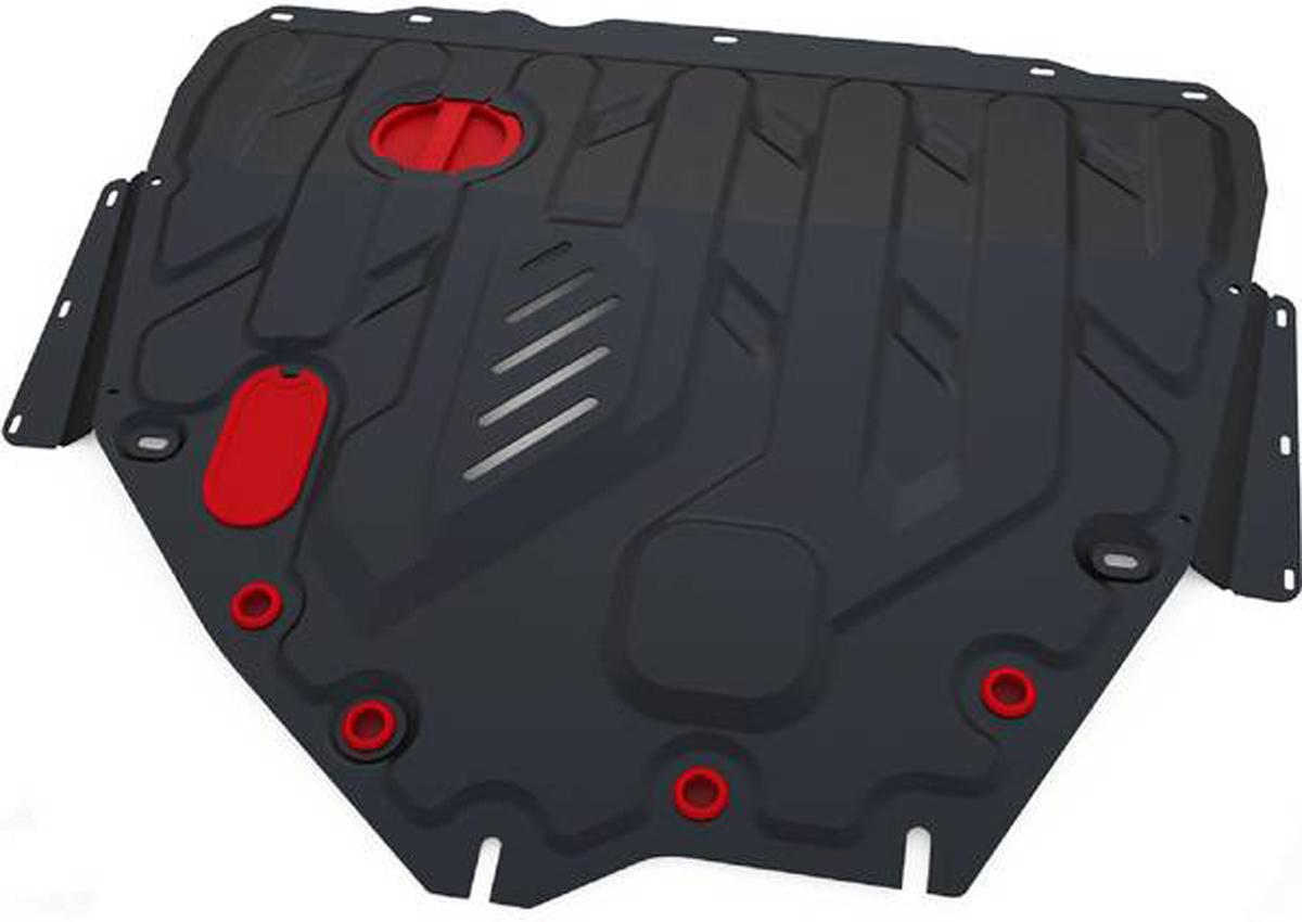 Защита картера и КПП Автоброня Suzuki SX4 2013-/Suzuki Vitara 2015-, сталь 2 мм111.05511.1Защита картера и КПП Автоброня для Suzuki SX4, V - 1,6 2013-/Suzuki Vitara, V - 1,6 2015-, сталь 2 мм, комплект крепежа, 111.05511.1Стальные защиты Автоброня надежно защищают ваш автомобиль от повреждений при наезде на бордюры, выступающие канализационные люки, кромки поврежденного асфальта или при ремонте дорог, не говоря уже о загородных дорогах.- Имеют оптимальное соотношение цена-качество.- Спроектированы с учетом особенностей автомобиля, что делает установку удобной.- Защита устанавливается в штатные места кузова автомобиля.- Является надежной защитой для важных элементов на протяжении долгих лет.- Глубокий штамп дополнительно усиливает конструкцию защиты.- Подштамповка в местах крепления защищает крепеж от срезания.- Технологические отверстия там, где они необходимы для смены масла и слива воды, оборудованные заглушками, закрепленными на защите.Толщина стали 2 мм.В комплекте крепеж и инструкция по установке.Уважаемые клиенты!Обращаем ваше внимание на тот факт, что защита имеет форму, соответствующую модели данного автомобиля. Наличие глубокого штампа и лючков для смены фильтров/масла предусмотрено не на всех защитах. Фото служит для визуального восприятия товара.