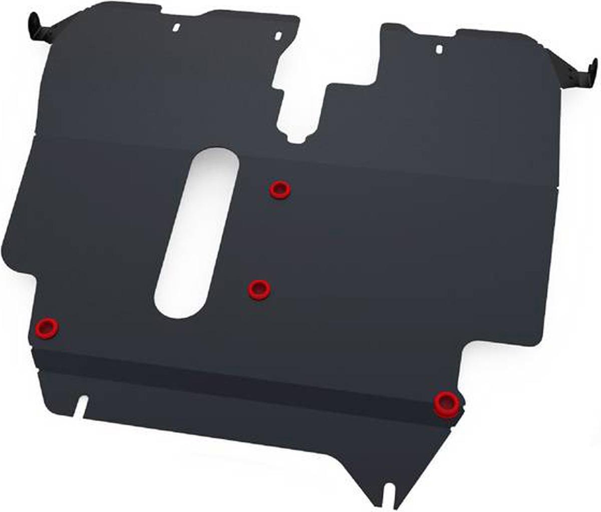 Защита картера и КПП Автоброня Toyota Spacio 1997-2001, сталь 2 мм111.05726.1Защита картера и КПП Автоброня Toyota Spacio, V - 1,6 1997-2001, сталь 2 мм, комплект крепежа, 111.05726.1Стальные защиты Автоброня надежно защищают ваш автомобиль от повреждений при наезде на бордюры, выступающие канализационные люки, кромки поврежденного асфальта или при ремонте дорог, не говоря уже о загородных дорогах. - Имеют оптимальное соотношение цена-качество. - Спроектированы с учетом особенностей автомобиля, что делает установку удобной. - Защита устанавливается в штатные места кузова автомобиля. - Является надежной защитой для важных элементов на протяжении долгих лет. - Глубокий штамп дополнительно усиливает конструкцию защиты. - Подштамповка в местах крепления защищает крепеж от срезания. - Технологические отверстия там, где они необходимы для смены масла и слива воды, оборудованные заглушками, закрепленными на защите. Толщина стали 2 мм. В комплекте крепеж и инструкция по установке.Уважаемые клиенты! Обращаем ваше внимание на тот факт, что защита имеет форму, соответствующую модели данного автомобиля. Наличие глубокого штампа и лючков для смены фильтров/масла предусмотрено не на всех защитах. Фото служит для визуального восприятия товара.
