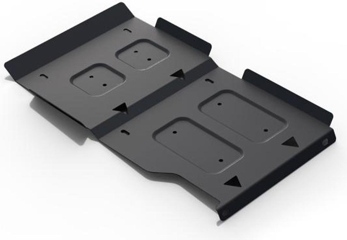 Защита КПП и РК Автоброня Lada 4х4 2001-, сталь 2 мм111.06020.1Защита КПП и РК Автоброня Lada 4х4 2001-, сталь 2 мм, комплект крепежа, 111.06020.1Стальные защиты Автоброня надежно защищают ваш автомобиль от повреждений при наезде на бордюры, выступающие канализационные люки, кромки поврежденного асфальта или при ремонте дорог, не говоря уже о загородных дорогах. - Имеют оптимальное соотношение цена-качество. - Спроектированы с учетом особенностей автомобиля, что делает установку удобной. - Защита устанавливается в штатные места кузова автомобиля. - Является надежной защитой для важных элементов на протяжении долгих лет. - Глубокий штамп дополнительно усиливает конструкцию защиты. - Подштамповка в местах крепления защищает крепеж от срезания. - Технологические отверстия там, где они необходимы для смены масла и слива воды, оборудованные заглушками, закрепленными на защите. Толщина стали 2 мм. В комплекте крепеж и инструкция по установке.Уважаемые клиенты! Обращаем ваше внимание на тот факт, что защита имеет форму, соответствующую модели данного автомобиля. Наличие глубокого штампа и лючков для смены фильтров/масла предусмотрено не на всех защитах. Фото служит для визуального восприятия товара.