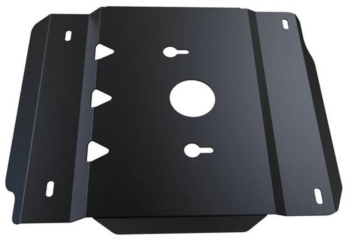 Защита КПП и РК Автоброня UAZ Hunter 2010-, сталь 3 мм222.06304.1Защита КПП и РК Автоброня UAZ Hunter 2010-, сталь 3 мм, комплект крепежа, 222.06304.1Стальные защиты Автоброня надежно защищают ваш автомобиль от повреждений при наезде на бордюры, выступающие канализационные люки, кромки поврежденного асфальта или при ремонте дорог, не говоря уже о загородных дорогах. - Имеют оптимальное соотношение цена-качество. - Спроектированы с учетом особенностей автомобиля, что делает установку удобной. - Защита устанавливается в штатные места кузова автомобиля. - Является надежной защитой для важных элементов на протяжении долгих лет. - Глубокий штамп дополнительно усиливает конструкцию защиты. - Подштамповка в местах крепления защищает крепеж от срезания. - Технологические отверстия там, где они необходимы для смены масла и слива воды, оборудованные заглушками, закрепленными на защите. Толщина стали 3 мм. В комплекте крепеж и инструкция по установке.Уважаемые клиенты! Обращаем ваше внимание на тот факт, что защита имеет форму, соответствующую модели данного автомобиля. Наличие глубокого штампа и лючков для смены фильтров/масла предусмотрено не на всех защитах. Фото служит для визуального восприятия товара.