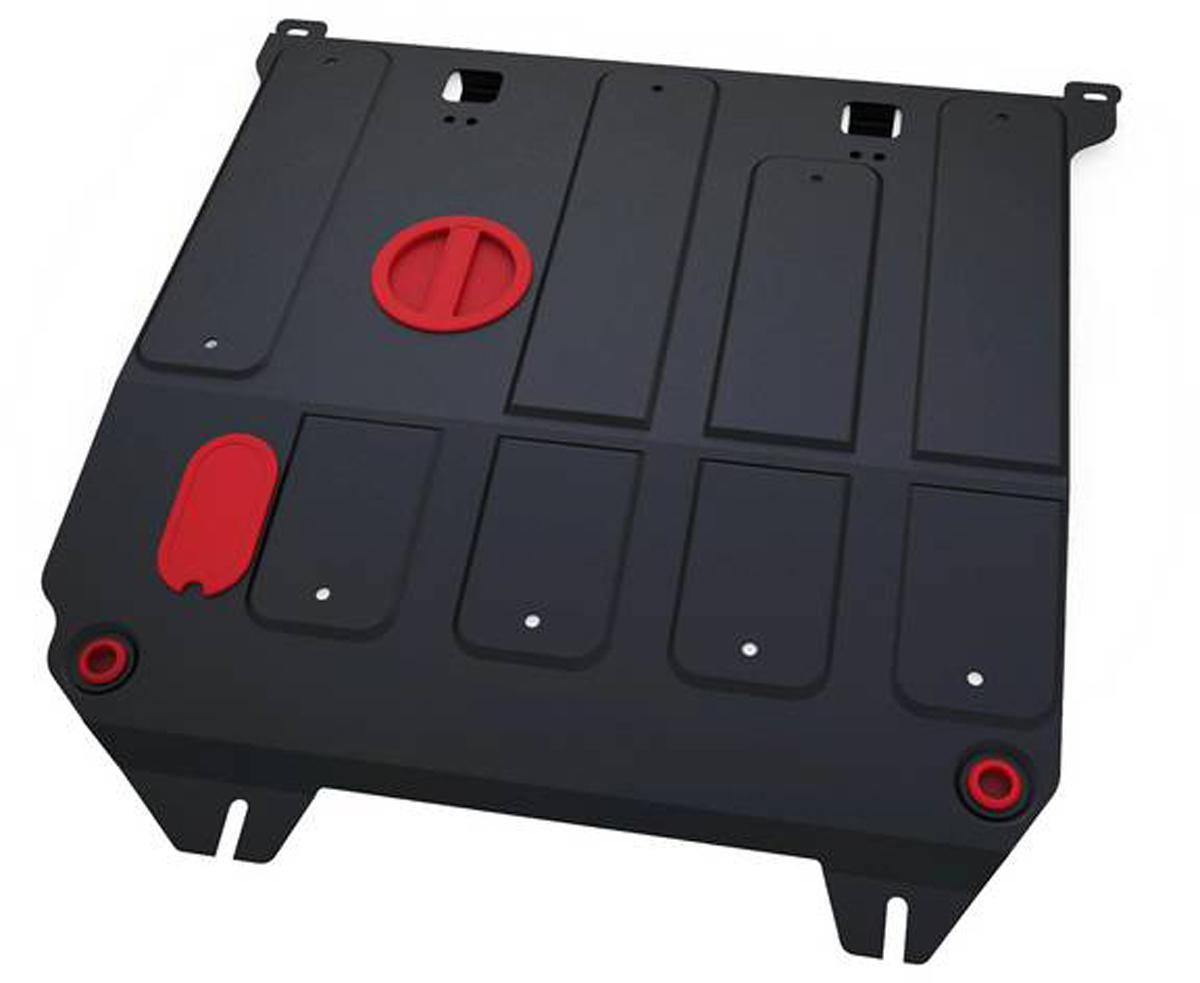 Защита картера и КПП Автоброня Haima M3 2014-, сталь 2 мм111.07003.1Защита картера и КПП Автоброня Haima M3 МКПП, V - 1.5 2014-, сталь 2 мм, комплект крепежа, 111.07003.1Стальные защиты Автоброня надежно защищают ваш автомобиль от повреждений при наезде на бордюры, выступающие канализационные люки, кромки поврежденного асфальта или при ремонте дорог, не говоря уже о загородных дорогах. - Имеют оптимальное соотношение цена-качество. - Спроектированы с учетом особенностей автомобиля, что делает установку удобной. - Защита устанавливается в штатные места кузова автомобиля. - Является надежной защитой для важных элементов на протяжении долгих лет. - Глубокий штамп дополнительно усиливает конструкцию защиты. - Подштамповка в местах крепления защищает крепеж от срезания. - Технологические отверстия там, где они необходимы для смены масла и слива воды, оборудованные заглушками, закрепленными на защите. Толщина стали 2 мм. В комплекте крепеж и инструкция по установке.Уважаемые клиенты! Обращаем ваше внимание на тот факт, что защита имеет форму, соответствующую модели данного автомобиля. Наличие глубокого штампа и лючков для смены фильтров/масла предусмотрено не на всех защитах. Фото служит для визуального восприятия товара.