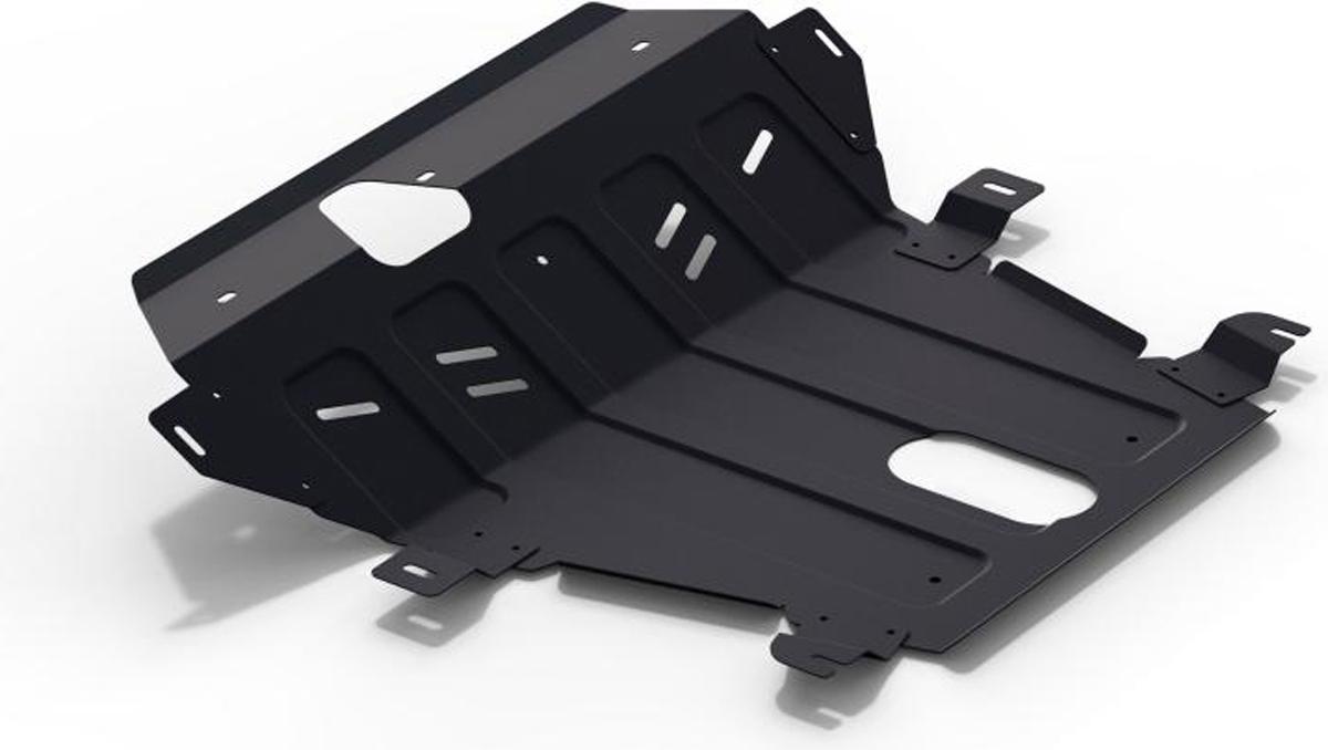 Защита картера и КПП Автоброня Hawtai Boliger 2013-, сталь 2 мм111.02901.1Защита картера и КПП Автоброня Hawtai Boliger, V - 1.8T; МКПП 2013-, сталь 2 мм, комплект крепежа, 111.02901.1Стальные защиты Автоброня надежно защищают ваш автомобиль от повреждений при наезде на бордюры, выступающие канализационные люки, кромки поврежденного асфальта или при ремонте дорог, не говоря уже о загородных дорогах. - Имеют оптимальное соотношение цена-качество. - Спроектированы с учетом особенностей автомобиля, что делает установку удобной. - Защита устанавливается в штатные места кузова автомобиля. - Является надежной защитой для важных элементов на протяжении долгих лет. - Глубокий штамп дополнительно усиливает конструкцию защиты. - Подштамповка в местах крепления защищает крепеж от срезания. - Технологические отверстия там, где они необходимы для смены масла и слива воды, оборудованные заглушками, закрепленными на защите. Толщина стали 2 мм. В комплекте крепеж и инструкция по установке.Уважаемые клиенты! Обращаем ваше внимание на тот факт, что защита имеет форму, соответствующую модели данного автомобиля. Наличие глубокого штампа и лючков для смены фильтров/масла предусмотрено не на всех защитах. Фото служит для визуального восприятия товара.