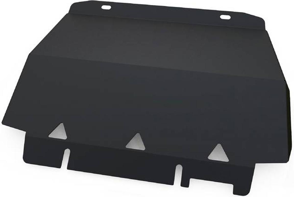 Защита радиатора Автоброня Ford Ranger 2012-, сталь 2 мм111.01829.1Защита радиатора Автоброня Ford Ranger, V - 2,2 2012-, сталь 2 мм, комплект крепежа, 111.01829.1Дополнительно можно приобрести другие защитные элементы из комплекта: защита картера - 111.01830.1, защита КПП - 111.01831.1, защита РК - 111.01832.1Стальные защиты Автоброня надежно защищают ваш автомобиль от повреждений при наезде на бордюры, выступающие канализационные люки, кромки поврежденного асфальта или при ремонте дорог, не говоря уже о загородных дорогах.- Имеют оптимальное соотношение цена-качество.- Спроектированы с учетом особенностей автомобиля, что делает установку удобной.- Защита устанавливается в штатные места кузова автомобиля.- Является надежной защитой для важных элементов на протяжении долгих лет.- Глубокий штамп дополнительно усиливает конструкцию защиты.- Подштамповка в местах крепления защищает крепеж от срезания.- Технологические отверстия там, где они необходимы для смены масла и слива воды, оборудованные заглушками, закрепленными на защите.Толщина стали 2 мм.В комплекте крепеж и инструкция по установке.Уважаемые клиенты!Обращаем ваше внимание на тот факт, что защита имеет форму, соответствующую модели данного автомобиля. Наличие глубокого штампа и лючков для смены фильтров/масла предусмотрено не на всех защитах. Фото служит для визуального восприятия товара.