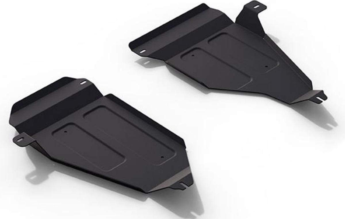 Защита топливных баков Автоброня Volkswagen Tiguan 2011-2016, сталь 2 мм111.05846.1Защита топливных баков Автоброня Volkswagen Tiguan 4WD, V - 2,0TSI; 2,0TDI 2011-2016, сталь 2 мм, комплект крепежа, 111.05846.1Стальные защиты Автоброня надежно защищают ваш автомобиль от повреждений при наезде на бордюры, выступающие канализационные люки, кромки поврежденного асфальта или при ремонте дорог, не говоря уже о загородных дорогах. - Имеют оптимальное соотношение цена-качество. - Спроектированы с учетом особенностей автомобиля, что делает установку удобной. - Защита устанавливается в штатные места кузова автомобиля. - Является надежной защитой для важных элементов на протяжении долгих лет. - Глубокий штамп дополнительно усиливает конструкцию защиты. - Подштамповка в местах крепления защищает крепеж от срезания. - Технологические отверстия там, где они необходимы для смены масла и слива воды, оборудованные заглушками, закрепленными на защите. Толщина стали 2 мм. В комплекте крепеж и инструкция по установке.Уважаемые клиенты! Обращаем ваше внимание на тот факт, что защита имеет форму, соответствующую модели данного автомобиля. Наличие глубокого штампа и лючков для смены фильтров/масла предусмотрено не на всех защитах. Фото служит для визуального восприятия товара.