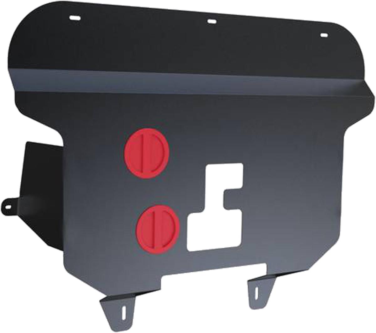 Защита картера и КПП Автоброня Fiat Doblo 2006-2015, сталь 2111.01702.2Защита картера и КПП Автоброня Fiat Doblo 2006-2015, V - 1.4, сталь 2 мм, 111.01702.2Стальные защиты Автоброня надежно защищают ваш автомобиль от повреждений при наезде на бордюры, выступающие канализационные люки, кромки поврежденного асфальта или при ремонте дорог, не говоря уже о загородных дорогах.- Имеют оптимальное соотношение цена-качество.- Спроектированы с учетом особенностей автомобиля, что делает установку удобной.- Защита устанавливается в штатные места кузова автомобиля.- Является надежной защитой для важных элементов на протяжении долгих лет.- Глубокий штамп дополнительно усиливает конструкцию защиты.- Подштамповка в местах крепления защищает крепеж от срезания.- Технологические отверстия там, где они необходимы для смены масла и слива воды, оборудованные заглушками, закрепленными на защите.Толщина стали 2 мм.В комплекте крепеж и инструкция по установке.