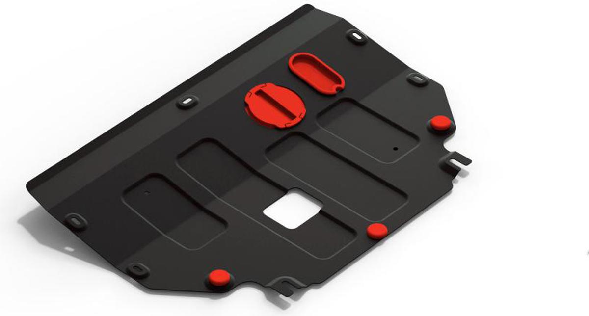 Защита картера и КПП Автоброня для автомобиля Kia Picanto, 2017-111.02840.1Защита картера и КПП Автоброня для Kia Picanto 2017- выполнена из стали толщиной 2 мм. Стальная защита Автоброня надежно защищает ваш автомобиль от повреждений при наезде на бордюры,выступающие канализационные люки, кромки поврежденного асфальта или при ремонте дорог, не говоря уже озагородных дорогах.Особенности:- спроектированы с учетом особенностей автомобиля, что делает установку удобной. - защита устанавливается в штатные места кузова автомобиля. - является надежной защитой для важных элементов на протяжении долгих лет. - глубокий штамп дополнительно усиливает конструкцию защиты. - подштамповка в местах крепления защищает крепеж от срезания. - технологические отверстия там, где они необходимы для смены масла и слива воды, оборудованныезаглушками, закрепленными на защите. В комплекте крепеж и инструкция по установке. Уважаемые клиенты!Обращаем ваше внимание на тот факт, что защита имеет форму,соответствующую модели данного автомобиля. Наличие глубокого штампа и лючков для смены фильтров/маслапредусмотрено не на всех защитах. Фото служит для визуального восприятия товара.