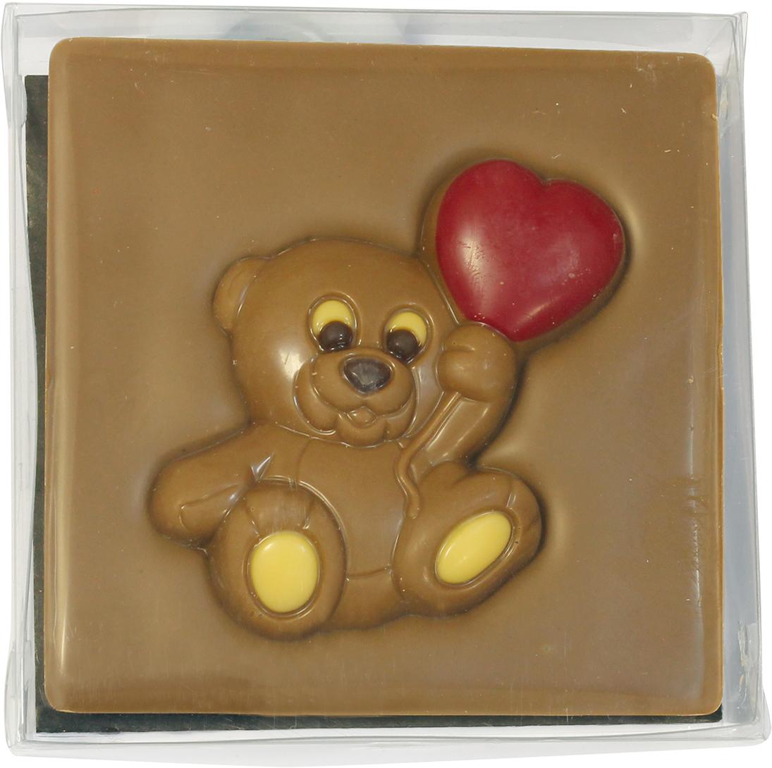 Chco Мишка с сердцем молочный детский шоколад, 70 г chokocat любимой дочке молочный шоколад 60 г