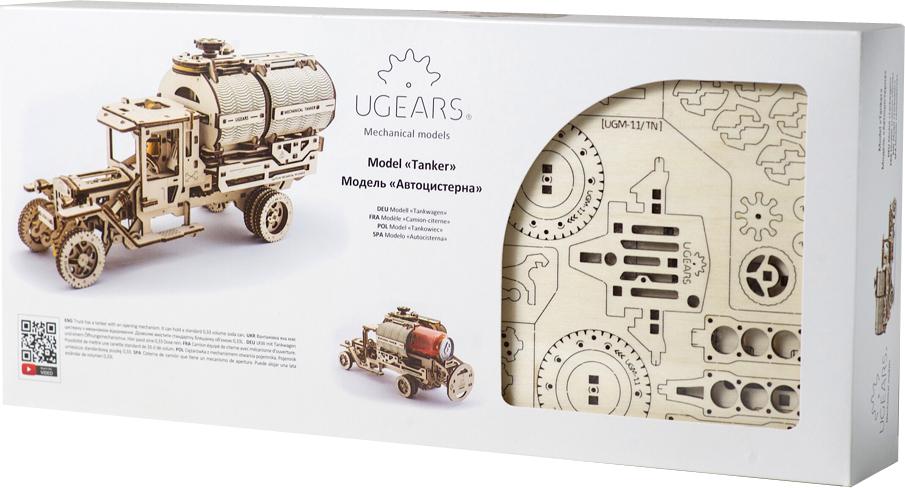 Ugears Конструктор 3D пазл Автоцистерна