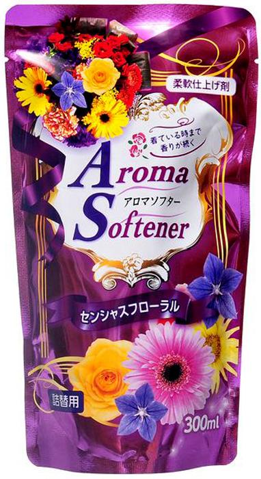 Кондиционер для белья Rocket Soap, с микрокапсулами, с ароматом полевых цветов, сменная упаковка, 300 мл4903367092557