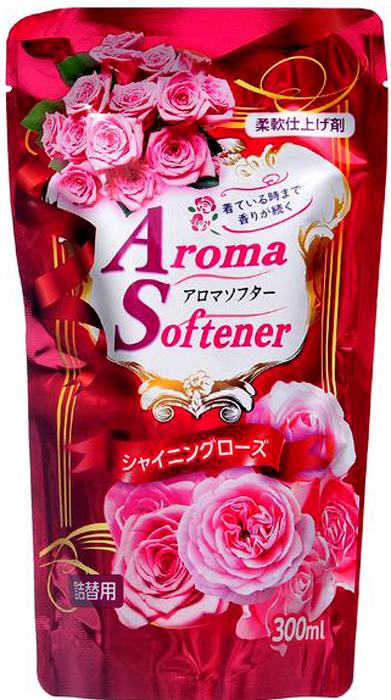 Кондиционер для белья Rocket Soap, с микрокапсулами, с ароматом розы, сменная упаковка, 300 мл4903367092564