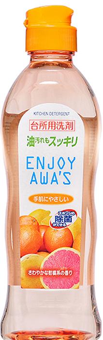 Жидкость для мытья посуды Rocket Soap Enjoy Awas, с ароматом цитрусов, 250 мл4903367302939;4903367302939Средство Rocket Soap Enjoy Awas с приятным цитрусовым ароматом отлично растворяет жир и удаляет загрязнения с посуды и кухонной утвари. Жидкость подходит даже для мытья фруктов и овощей и не причиняет вред коже рук. Товар сертифицирован.Как выбрать качественную бытовую химию, безопасную для природы и людей. Статья OZON Гид