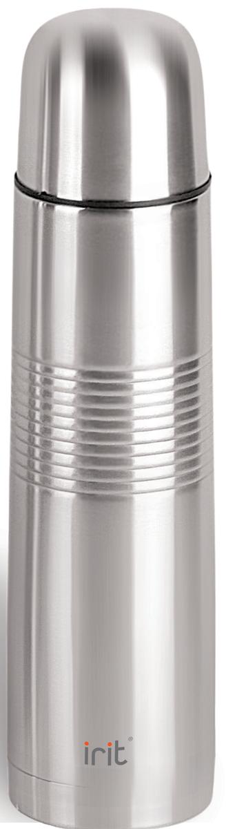 Термос Irit, 1 л. IRH-103IRH-103Термос Irit изготовлен из нержавеющей стали. Двойная вакуумная теплоизоляция стенок корпуса позволяет сохранять напитки теплыми в течение 12 часов или холодными в течение 24 часов. Крышка-стакан с пластиковой термостойкой вставкой не нагревается. Теплосберегающая пробка с клапаном предохраняет напитки от разливания.