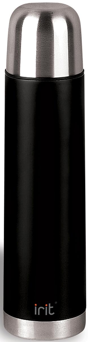 Термос Irit изготовлен из нержавеющей стали. Двойная вакуумная теплоизоляция стенок корпуса позволяет сохранять напитки теплыми в течение 12 часов или холодными в течение 18 часов. Крышка-стакан с пластиковой термостойкой вставкой не нагревается. Теплосберегающая пробка с клапаном предохраняет напитки от разливания.
