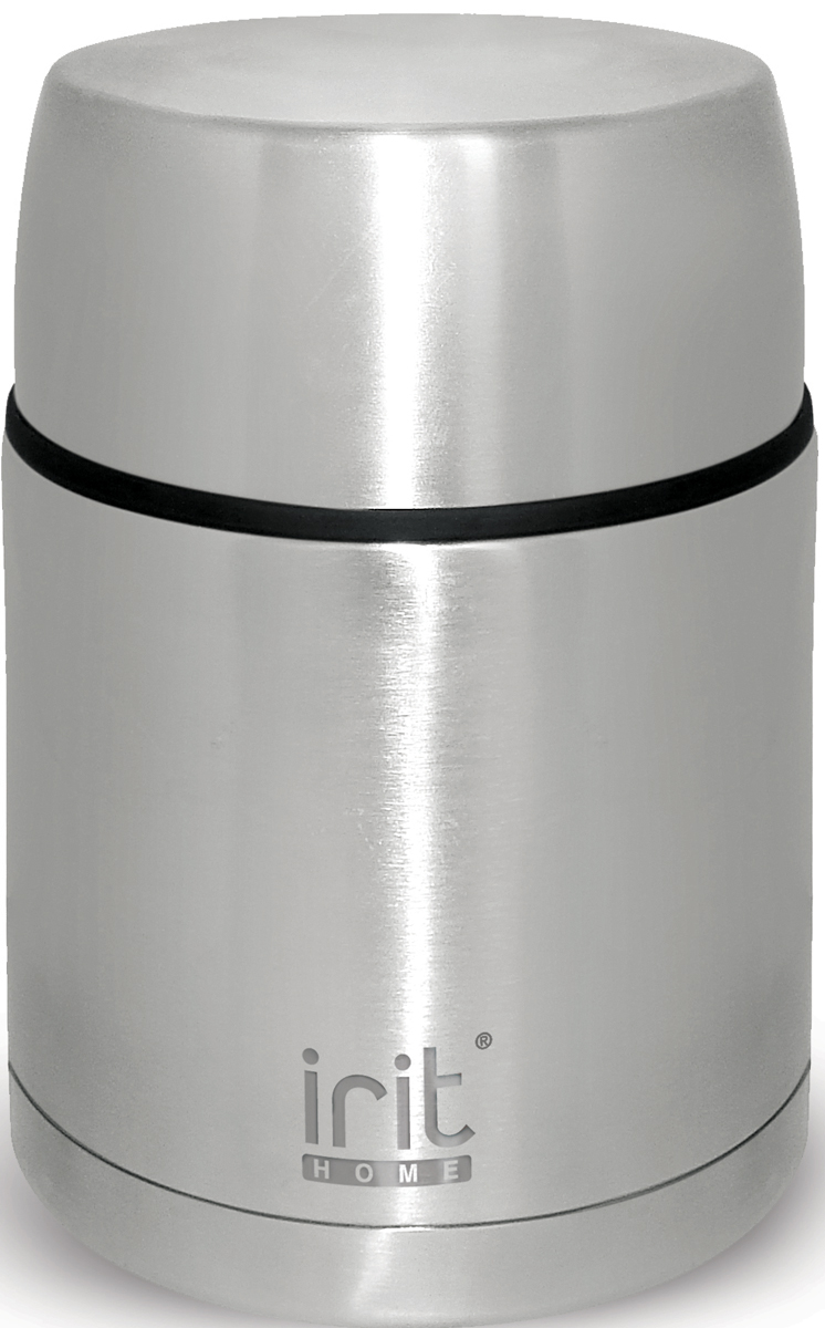 Термос Irit, 500 мл. IRH-112IRH-112Термос Irit изготовлен из нержавеющей стали. Двойная вакуумная теплоизоляция стенок корпуса позволяет сохранять напитки теплыми или холодными в течение 24 часов. Крышка-стакан с пластиковой термостойкой вставкой не нагревается. Теплосберегающая пробка с клапаном предохраняет напитки от разливания.