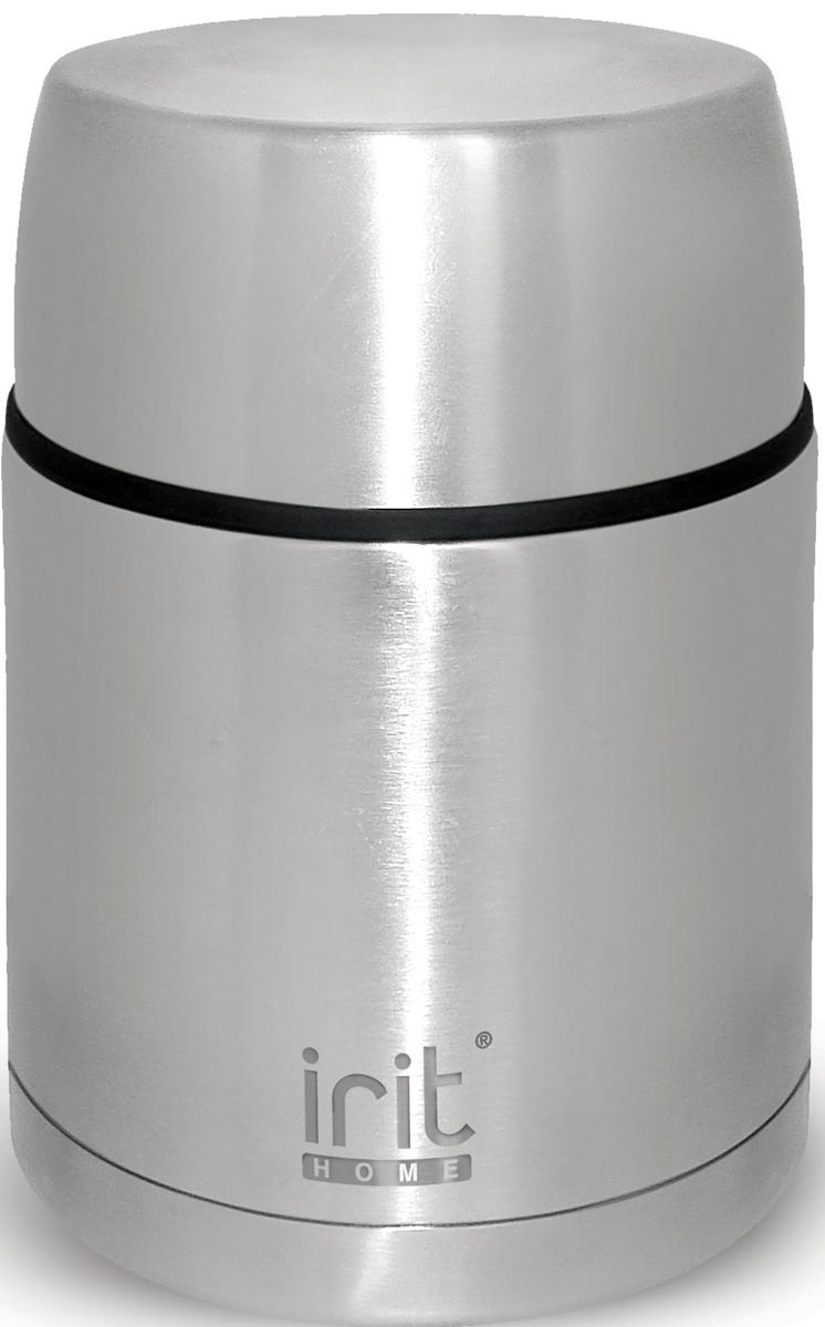 Термос Irit, 0,75 л. IRH-113IRH-113Термос из нержавеющей стали Емкость 0,75л,, сохранение тепла 12ч, холода 24ч, корпус из нержавеющей стали, двойная вакуумная теплоизоляция стенок корпуса, не нагревающаяся крышка-стакан с пластиковой термостойкой вставкой