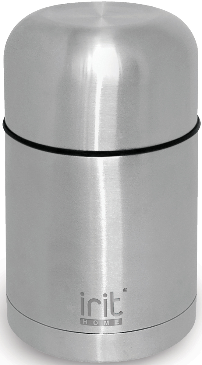 Термос Irit, 1 л. IRH-118IRH-118Термос из нержавеющей стали объемом 1л. Сохранение тепла 24 ч, холода - 24 ч. Корпус из нержавеющей стали, двойная вакуумная теплоизоляция стенок корпуса, не нагревающаяся крышка-стакан с пластиковой термостойкой вставкой