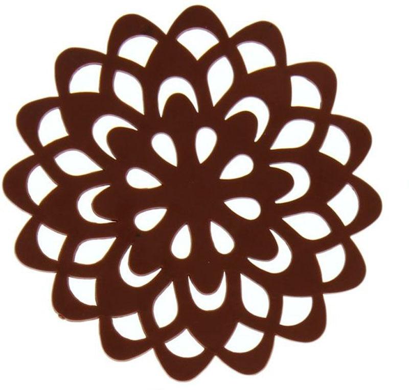 Набор подставок под горячее Доляна Воспоминание, диаметр 10 см, 4 шт1153293 коричневыйНабор Доляна Воспоминание состоит из 4 силиконовых подставок под горячее.Силиконовая подставка под горячее - практичный предмет, который обязательно пригодится в хозяйстве. Изделие поможет сберечь столы, тумбы, скатерти и клеёнки от повреждения нагретыми сковородами, кастрюлями, чайниками и тарелками.