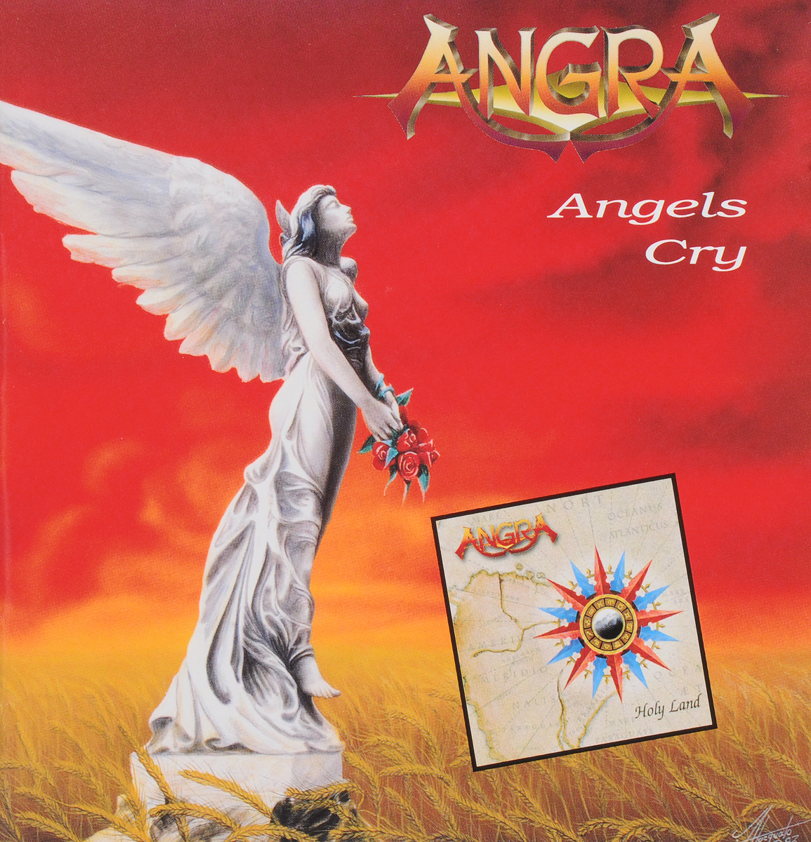 Angra Angra. Angels Cry / Holy Land (2 CD) angra fortaleza