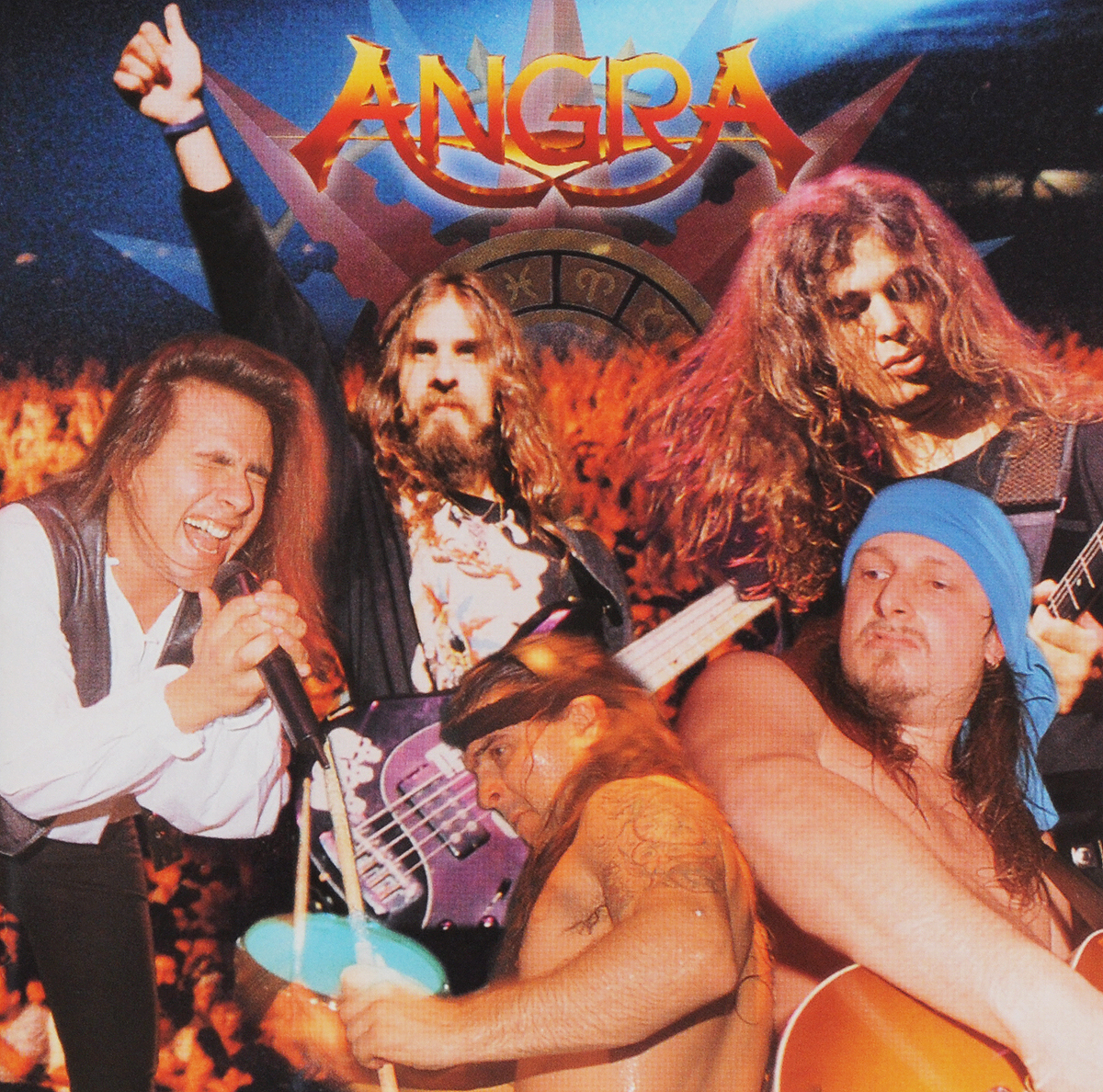 Angra. Freedom Call / Holy Live (2 CD)