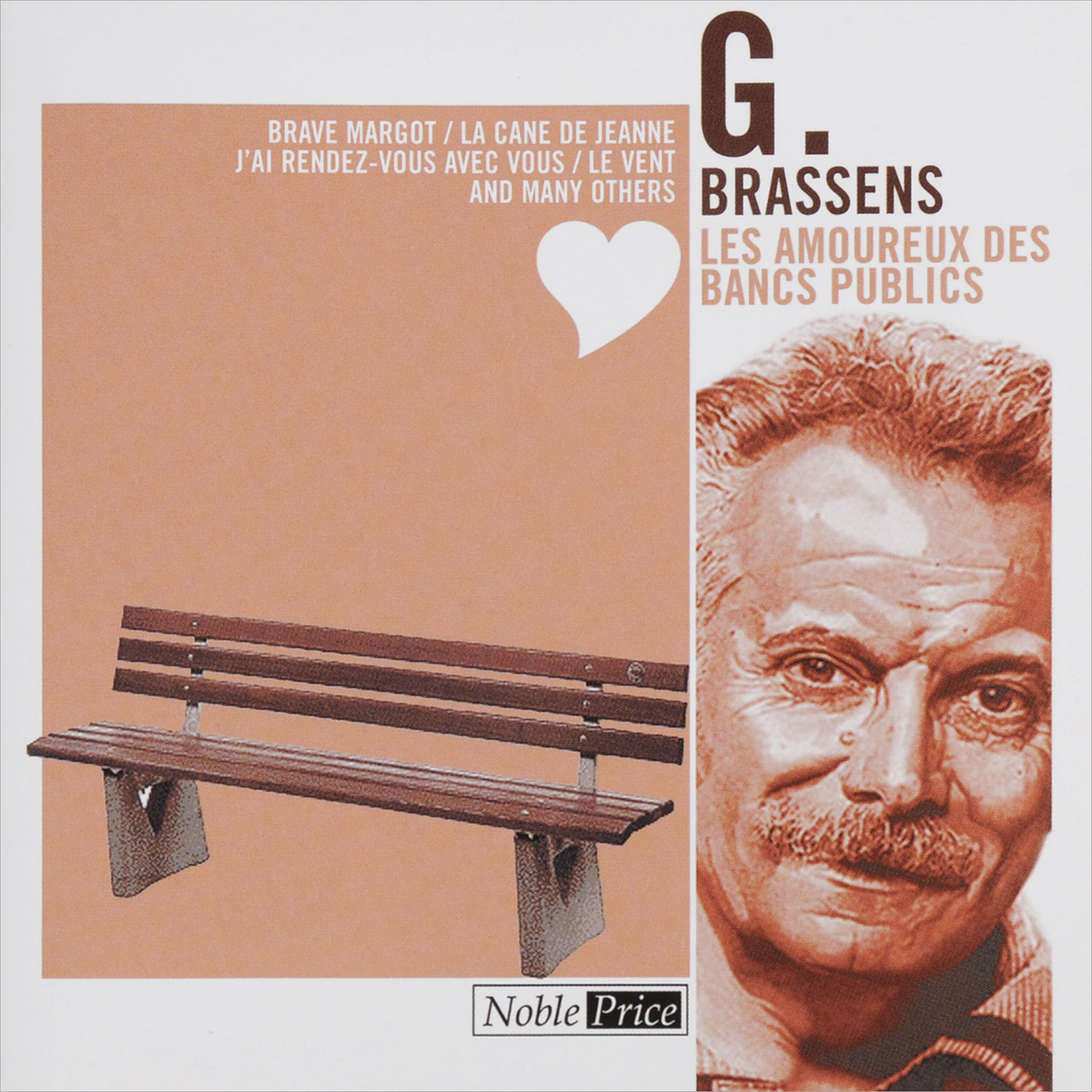 Zakazat.ru: Georges Brassens. Les Amoureux Des Bancs Publics