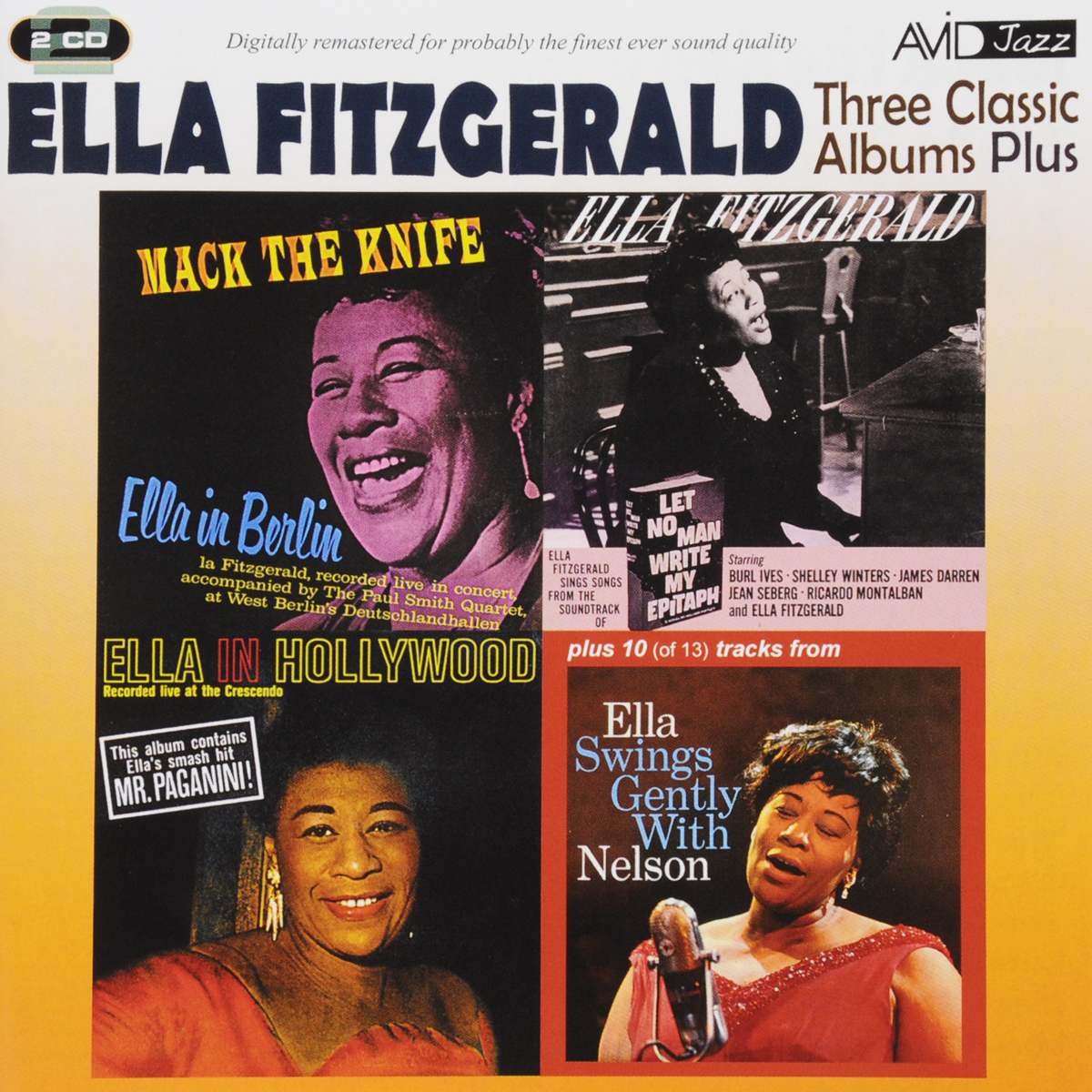 Zakazat.ru Ella Fitzgerald. Three Classic Albums Plus (2 CD)