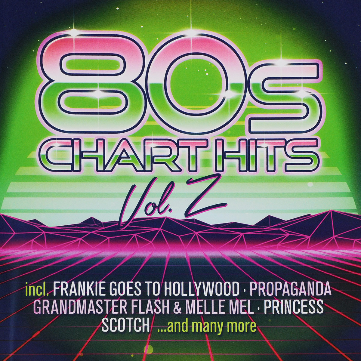 80s Chart Hits-Extended Versions Vol.2 (2 CD) house extended dj versions 2 cd