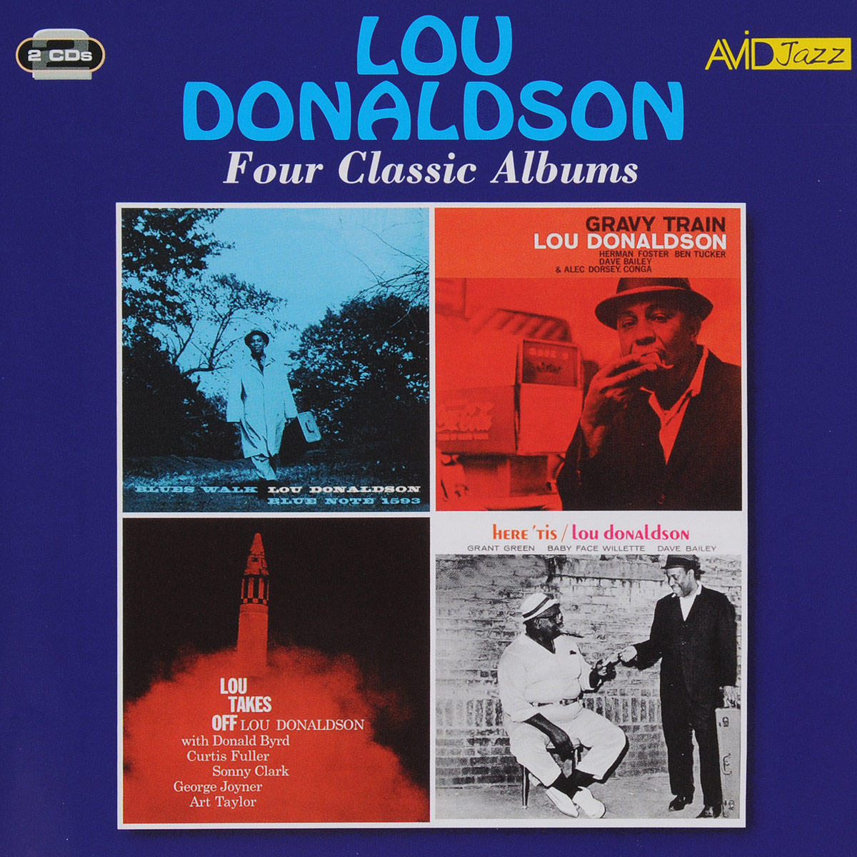 Лу Дональдсон Lou Donaldson. Four Classic Albums (2 CD) tiger lou tiger lou a partial print star 2 cd