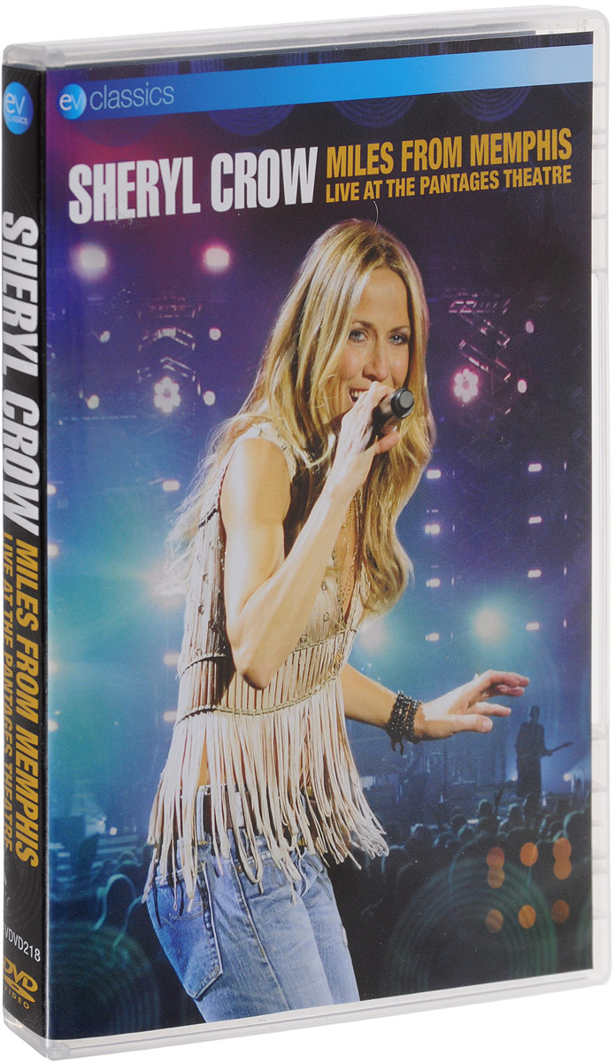 Filmed In November 2010 In The Palatial Surroundings Of The Wonderful Art Deco Pantages Theatre In Hollywood, This DVD Captures Sheryl Crow On Tour In Support Of Her Recent Hit Album