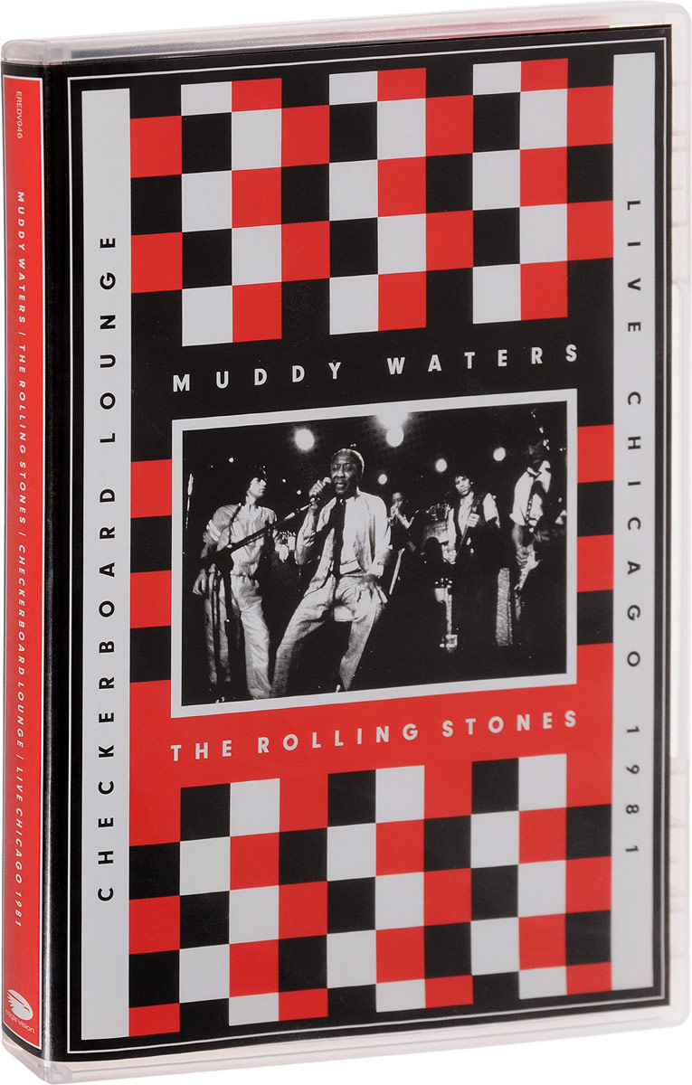 Muddy Waters & The Rolling Stones: Checkerboard Lounge / Live Chicago 1981 flip flop shaped stationery box 1pc