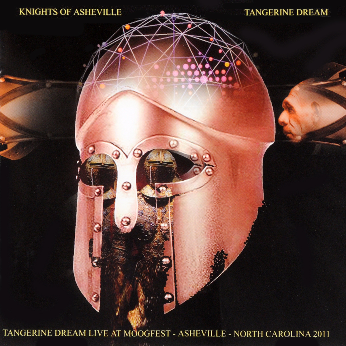 Tangerine Dream. Knights Of Asheville - Tangerine Dream Live At The Moogfest In Asheville 2011 (2 CD)