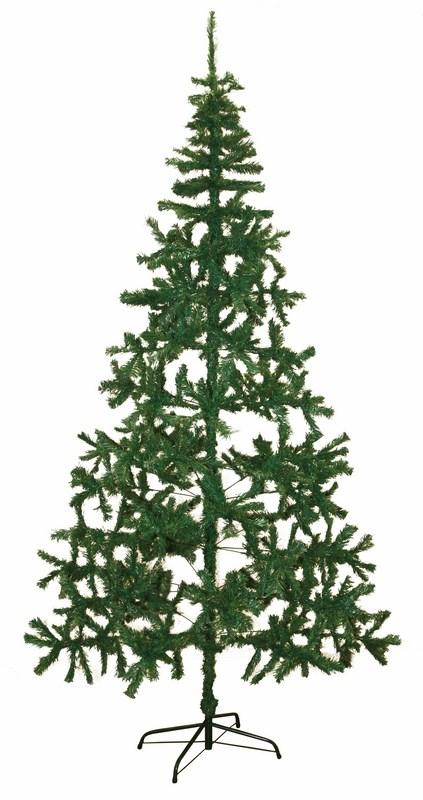 Ель искусственная Neon-Night Натуральная, цвет: зеленый, 2,4 м533-310Искусственная ель Neon-Night - отличный вариант для оформления вашего интерьера к Новому году. Такие деревья абсолютно безопасны, удобны в сборке и не занимают много места при хранении. Ель состоит из верхушки, ствола и устойчивой подставки. Ель быстро и легко устанавливается и имеет естественный и абсолютно натуральный вид. Ель Neon-Night обязательно создаст настроение волшебства и уюта, а также станет прекрасным украшением дома на период новогодних праздников.