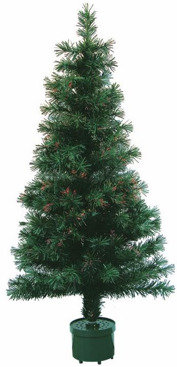 Декоративная новогодняя ель Neon-Night, фибро-оптика, 125 веток, 120 см533-201Даже одно только простое слово «елка» сразу поднимает настроение, вызывает яркие ассоциации с весельем, встречей друзей, чудесами. Наша компания работает на то, чтобы ни один россиянин в сказочные новогодние дни не остался без праздника ни дома, ни на улице. Главным символом Нового года уже несколько столетий является наряженное и заботливо украшенное дерево с коротким, но так много значащим названием: елка. Без елки ощущение праздника будет не полным. Но уничтожение живых деревьев ради нескольких дней веселья уже почти осталось в прошлом. Да и найти красивое, ровное, пушистое дерево – большая проблема. Гораздо лучше, надежнее и современнее поручить роль хозяйки праздника искусственной ели. Она, в отличие от натуральной, всегда в форме: стройная, густая, привлекательная. А после праздников ее не нужно выбрасывать – достаточно просто положить в укромное местечко, где она отдохнет до следующих чудесных дней, и через год снова собрать. И уже не придется опять тратиться на украшение праздника.Данная новогодняя ель имеет 125 веток и высоту 120 см.