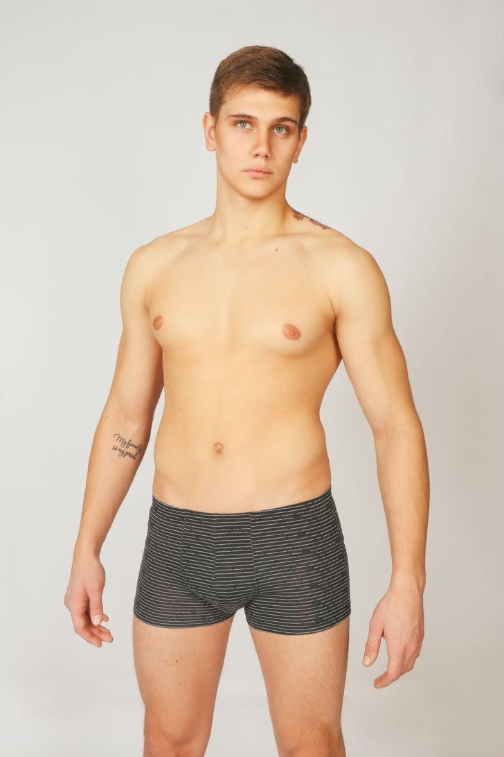 купить Трусы-боксеры мужские Melado Гермес, цвет: черный. MH2431/01. Размер 54 по цене 400 рублей