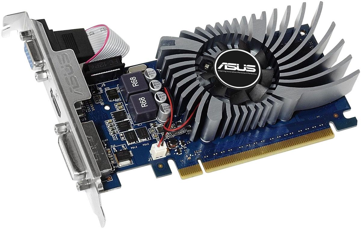 ASUS GeForce GT 730 2GB видеокартаGT730-2GD5-BRKВидеокарты ASUS серии GT 730 – это доступные по цене устройства, обеспечивающие достаточно высокую скорость в 3D-играх. В них реализовано множество эксклюзивных технологий и функций ASUS, включая пыленепроницаемый вентилятор, высококачественные компоненты Super Alloy Power и поддержку удобной утилиты для мониторинга и разгона GPU Tweak.Стабильной работе видеокарты способствует высококачественная элементная база. Например, конденсаторы рассчитаны на 50 тысяч часов работы – в 2,5 раза дольше, чем обычные!Утилита GPU Tweak поддерживает функцию трансляции процесса игры в интернет. При этом пользователь может добавить в окошко трансляции название, различные подписи и изображения.Как собрать игровой компьютер. Статья OZON Гид