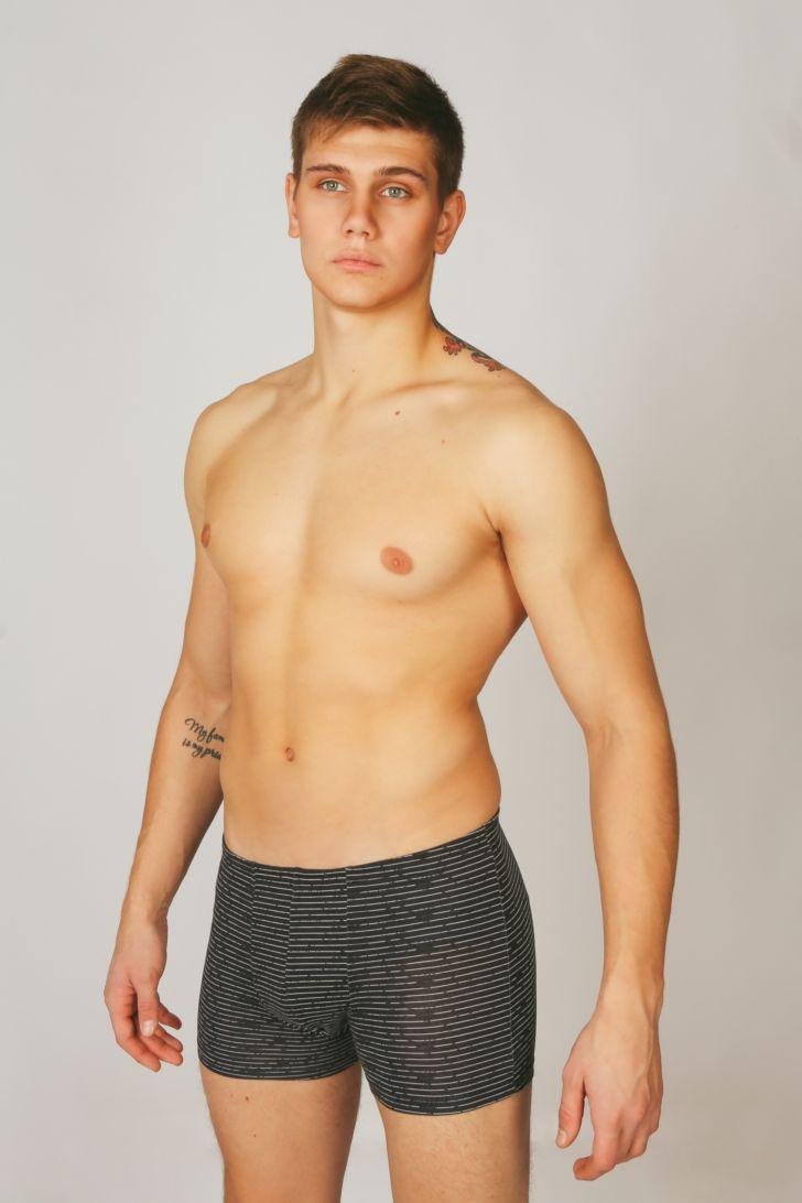 купить Трусы мужские Melado Гермес, цвет: черный. MH2432/01. Размер 54 по цене 400 рублей