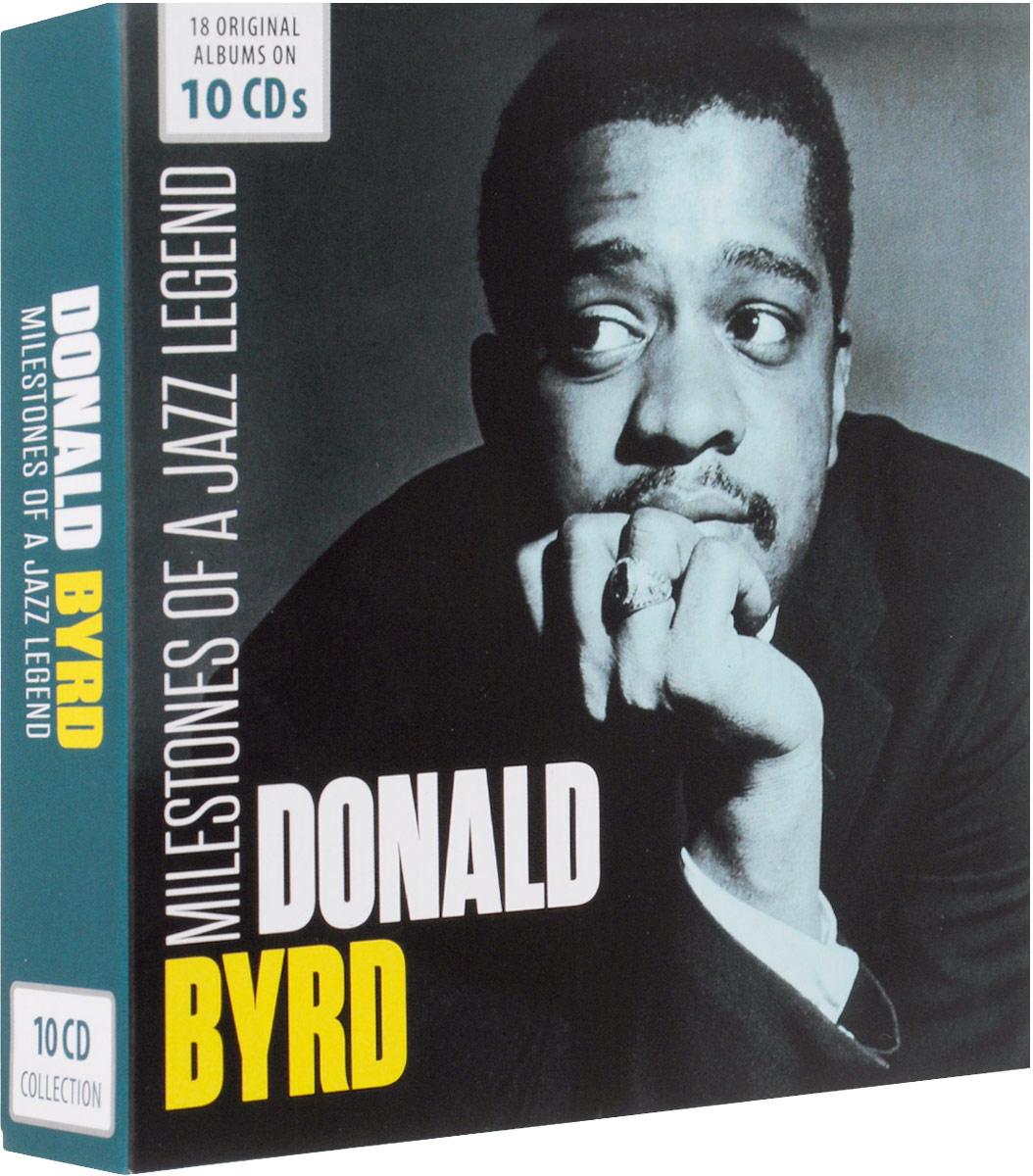 все цены на Дональд Берд Donald Byrd. Milestones Of A Jazz Legend (10 CD)