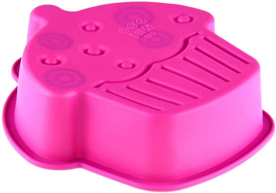 Форма для выпечки Доляна Пирожное, цвет: ярко-розовый, 15 х 4 см1166840_ярко-розовыйФорма Доляна Пирожное выполнена из силикона, благодаря этому выпечку вынимать легко и просто. Материал устойчив к фруктовым кислотам, может быть использован в духовках и микроволновых печах. Перед первым применением промойте предмет тёплой водой.В процессе приготовления используйте кухонный инструмент из дерева, пластика или силикона.Перед извлечением блюда из силиконовой формы дайте ему немного остыть, осторожно отогните края предмета.Готовьте с удовольствием!