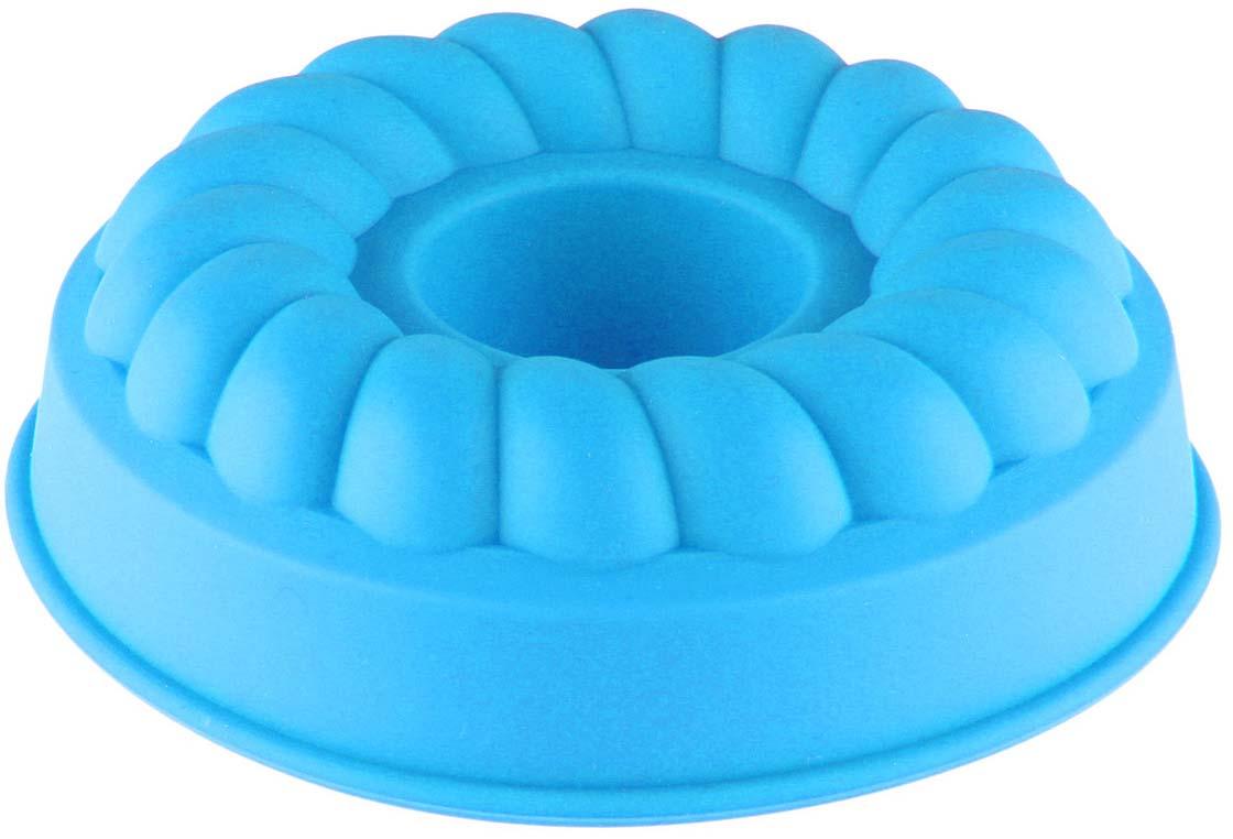 Форма для выпечки Доляна Косичка, цвет: голубой, 11 х 11 х 3,5 см1166841_голубойФорма для выпечки Доляна Косичка, цвет: голубой, 11 х 11 х 3,5 см