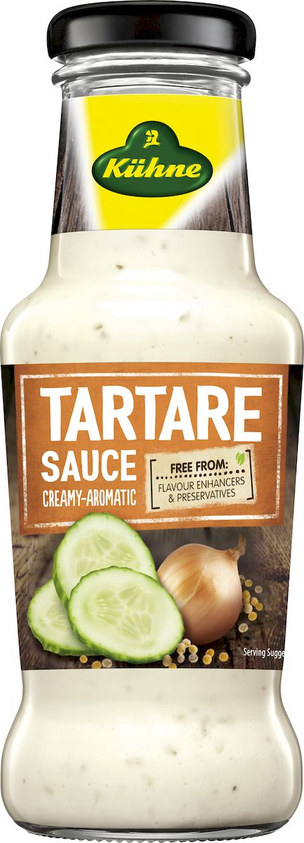 Kuhne Spicy Sauce Tartare соус тартар, 253 г kuhne italian соус салатный итальянский 260 г