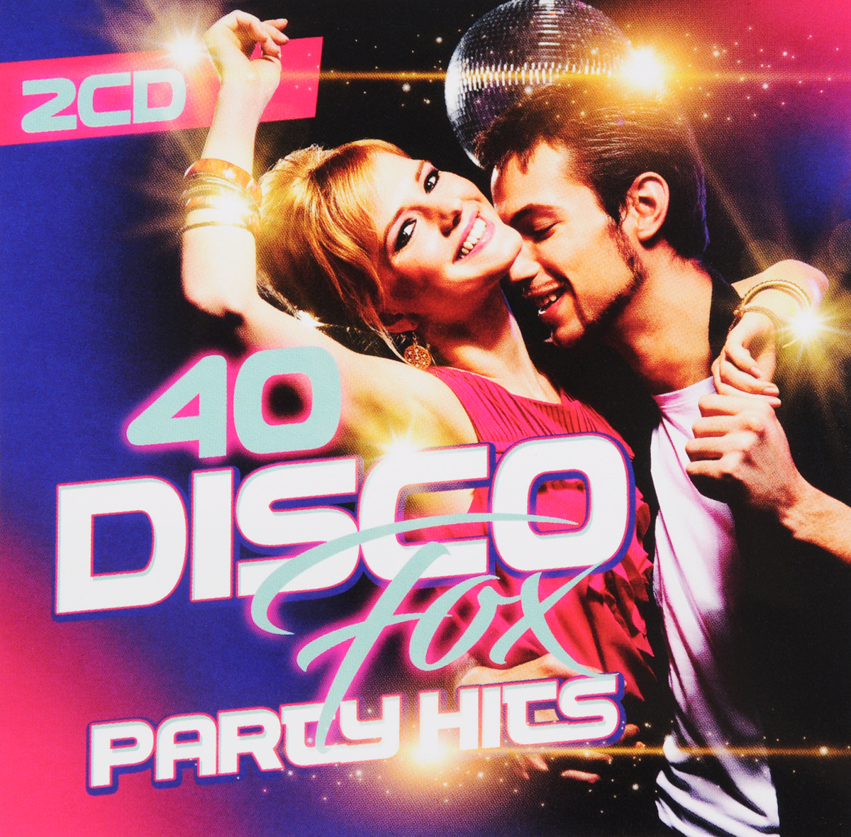 40 Disco Fox Party Hits (2 CD) suny rgb mini 3 lens 40 patterns mixing laser projector effect stage remote 3w blue led light show disco party lighting