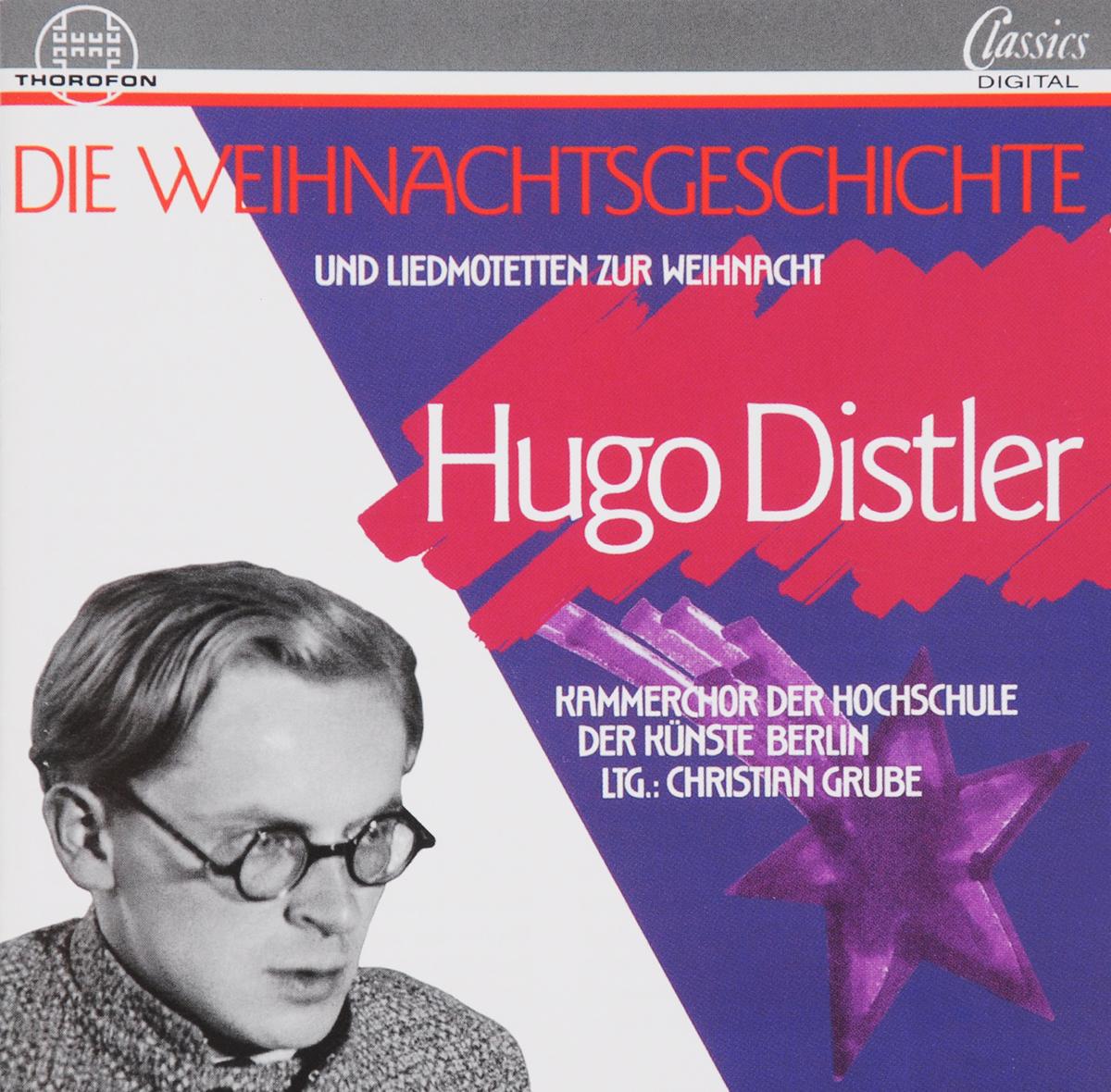 Hugo Distler. Die Weihnachtsgeschichte