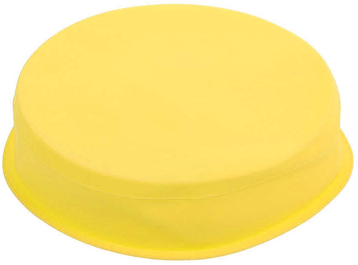 """Форма для выпечки Доляна """"Круг"""", цвет: желтый, 26 х 6 см"""